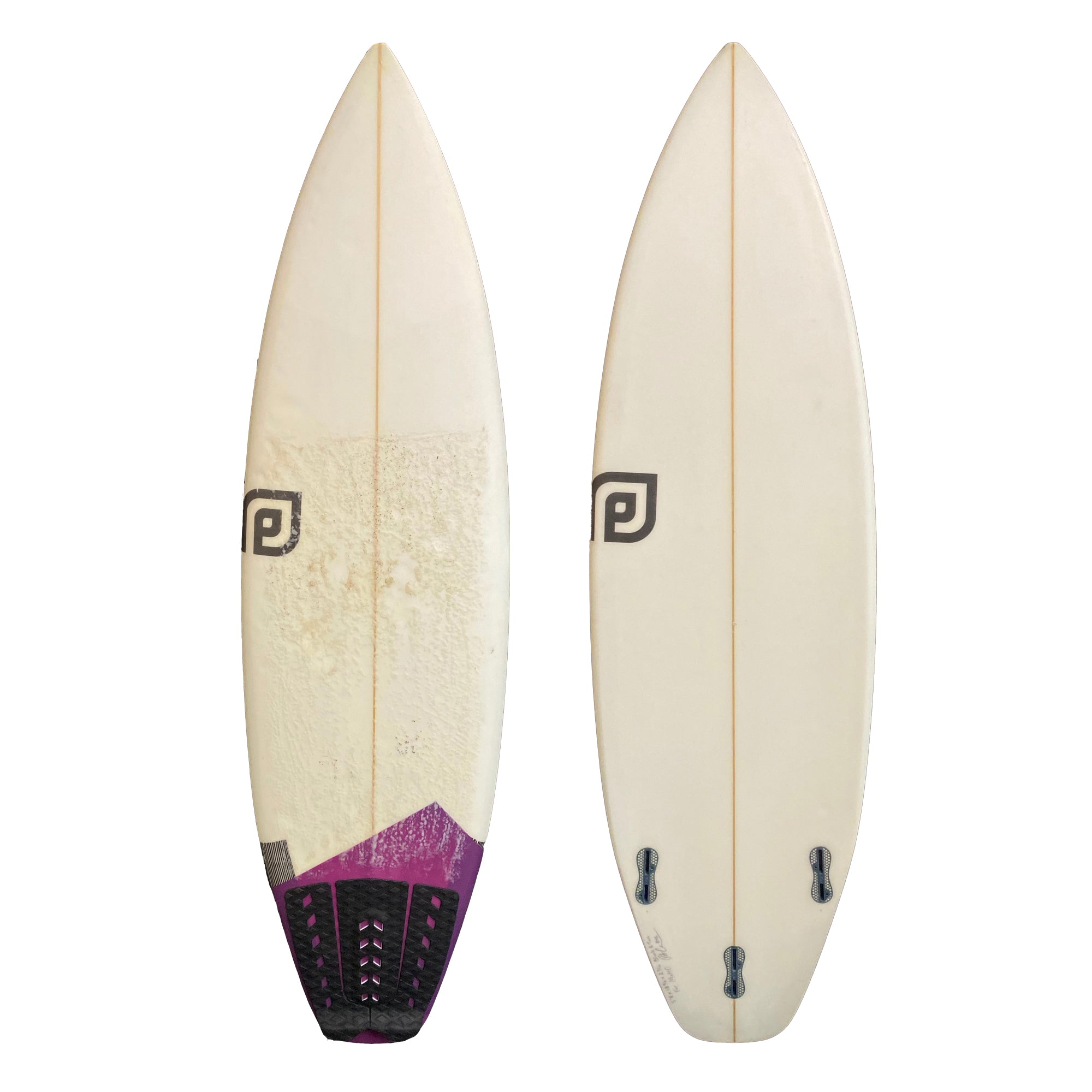 CSD Black and Tan 5'8 Used Surfboard