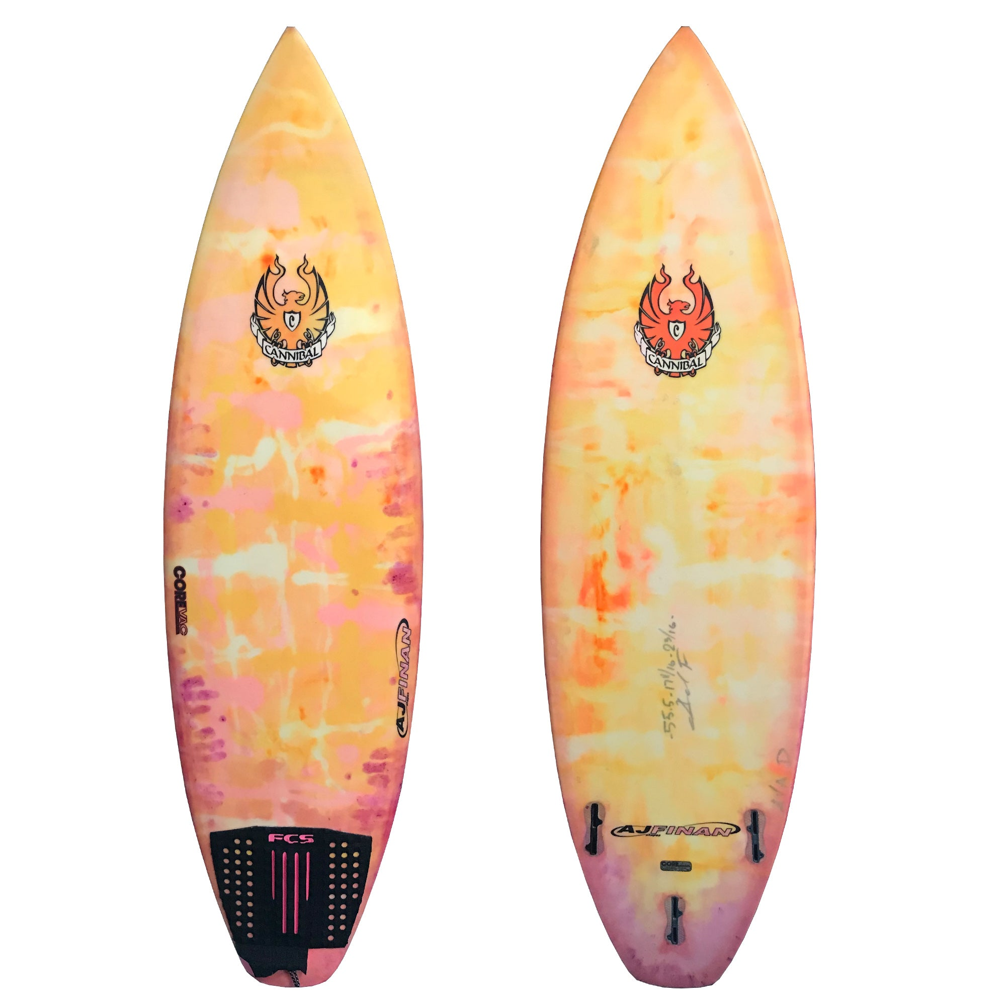"Cannibal ""Covert"" 5'5 1/2 Used Surfboard"