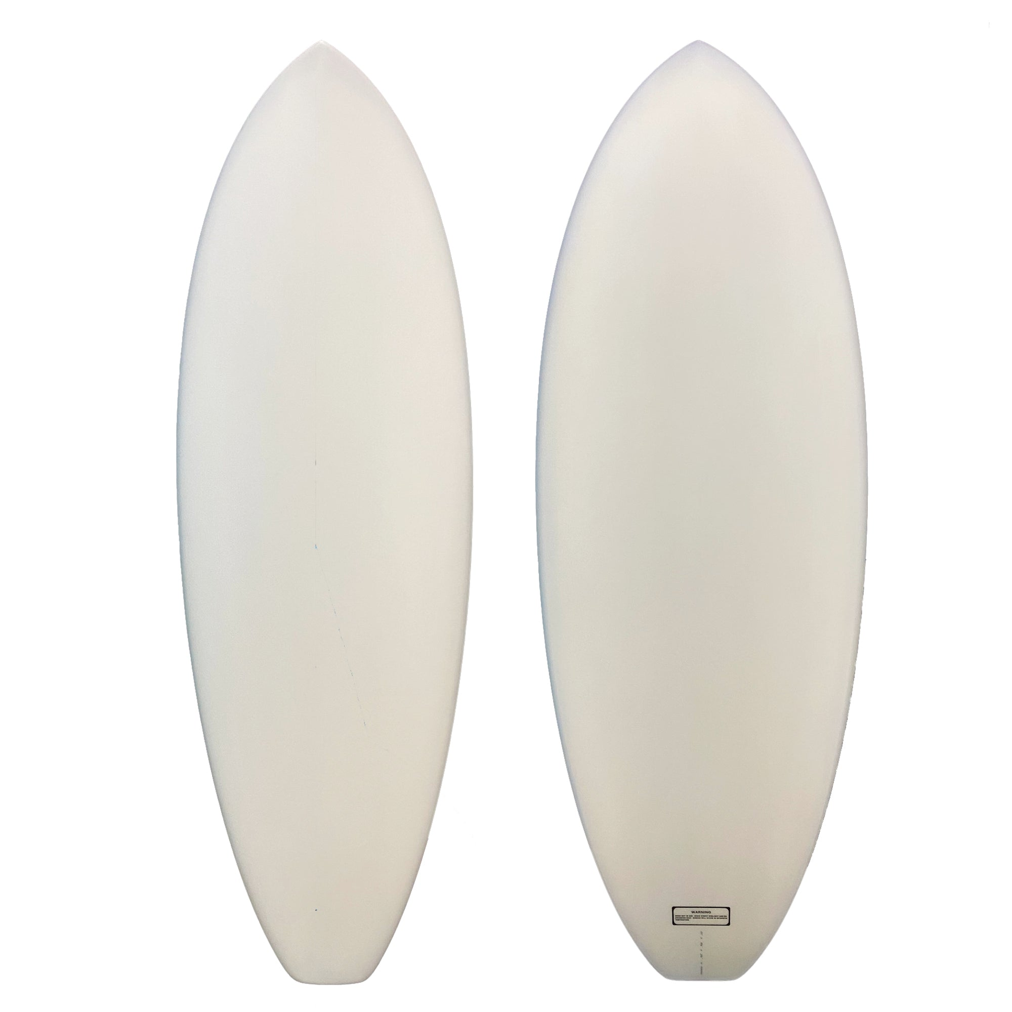 Blank Canvas Surfboard - Vertical