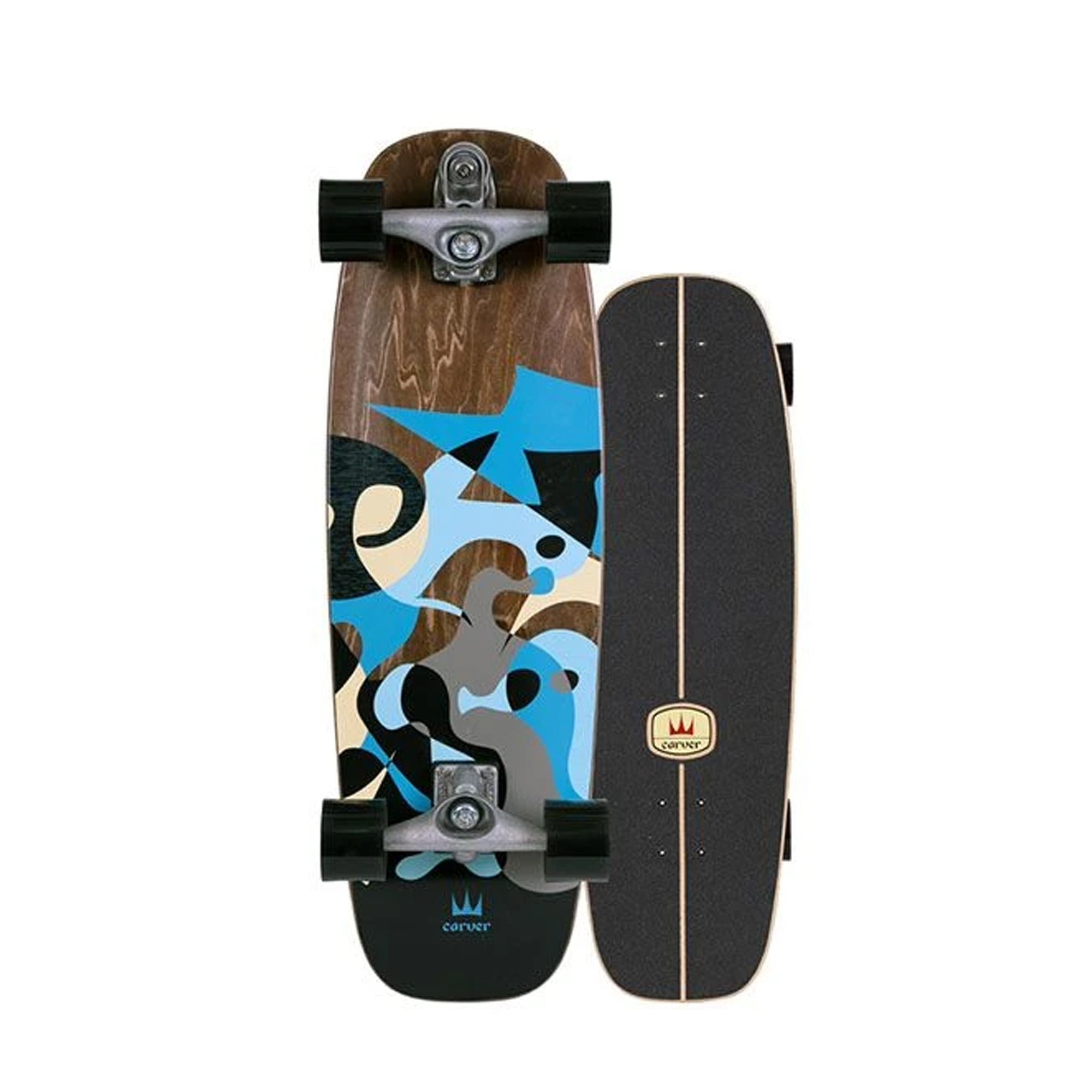Carver C7 Blue Ray Surfskate Complete
