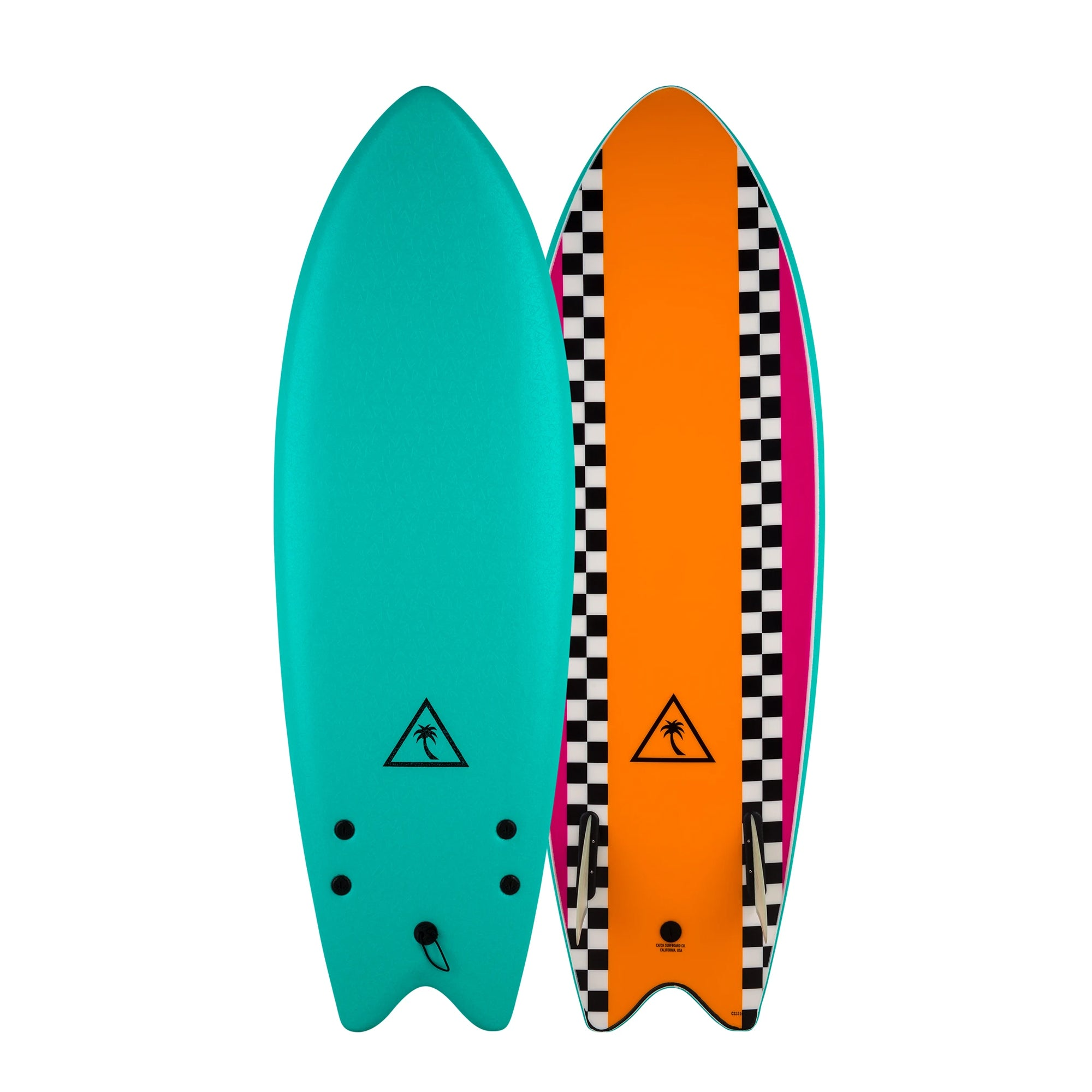 Catch Surf Heritage 5'6 Retro Fish Soft Surfboard