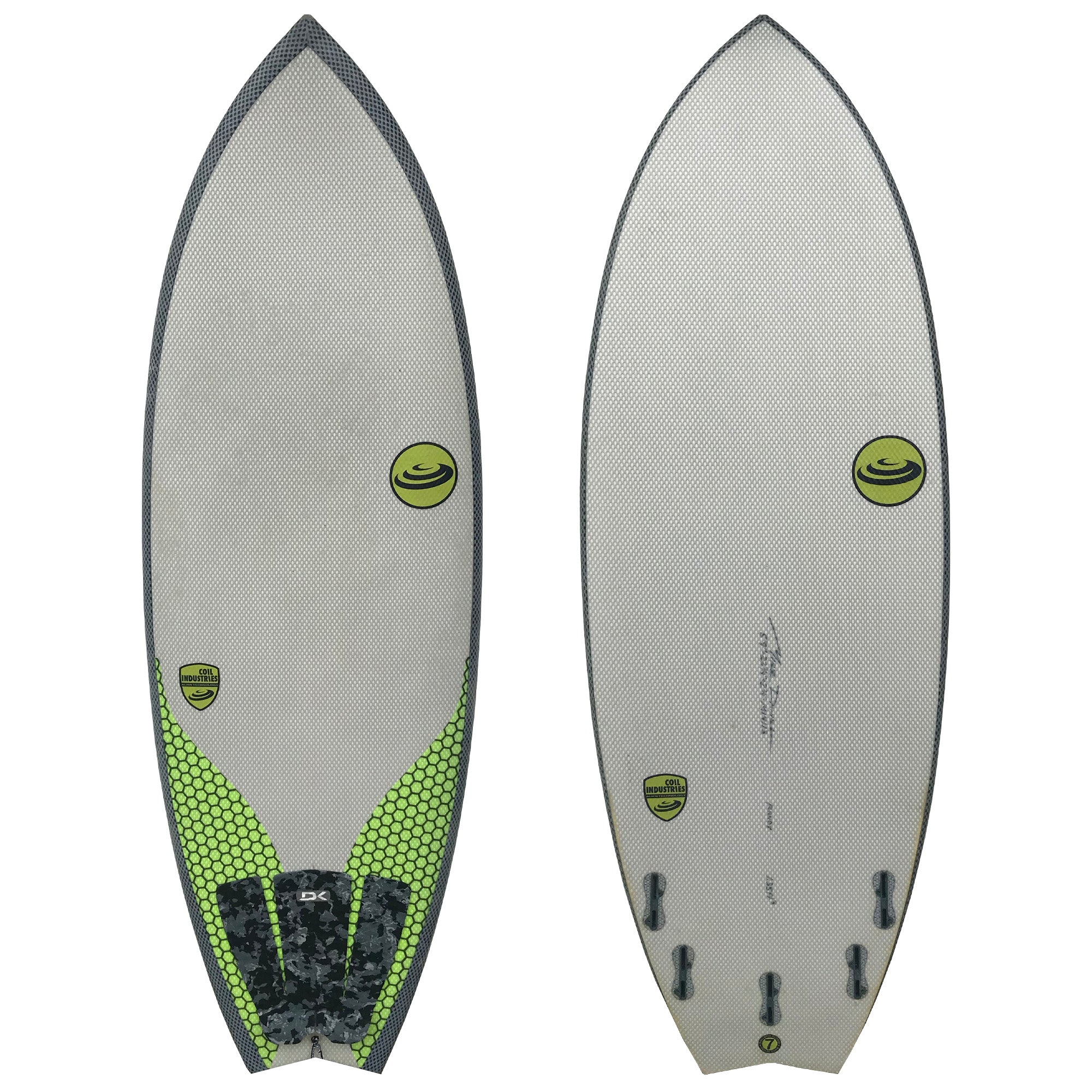 Coil Industries 5'9 Used Surfboard