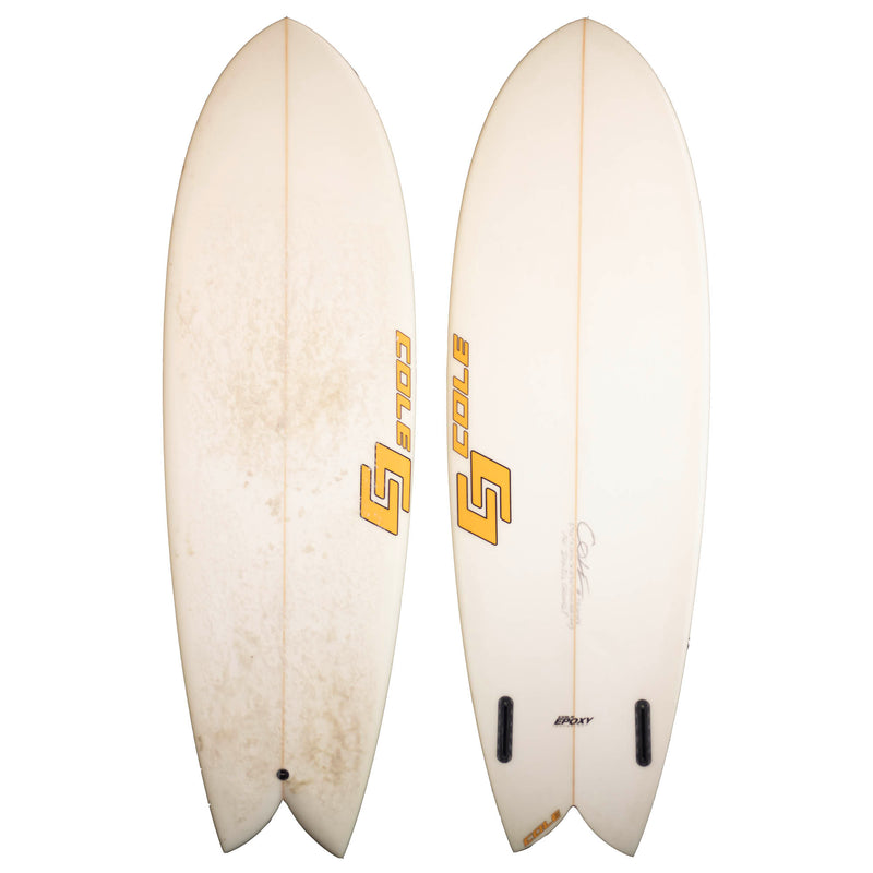 Cole Twin Fin 5'10 Used Surfboard