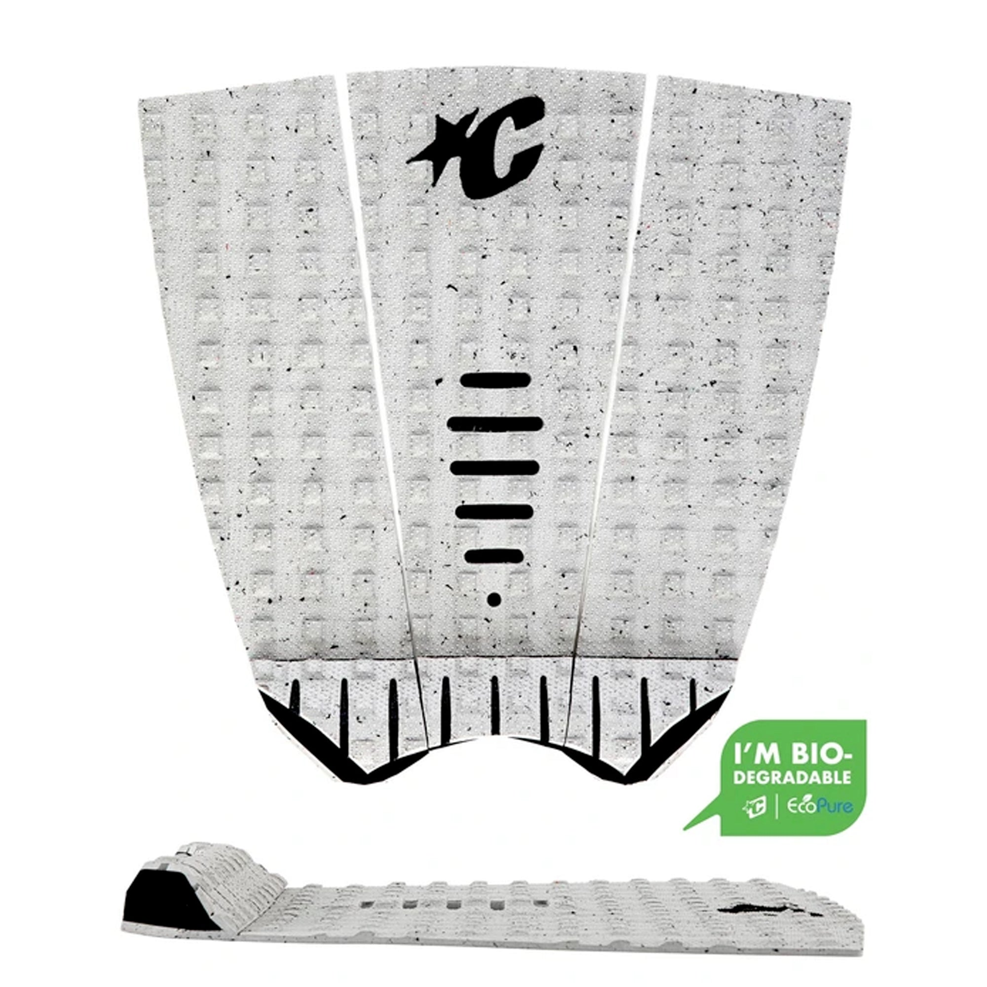 Creatures of Leisure Mick Fanning Lite Arch Traction Pad - Cement Eco