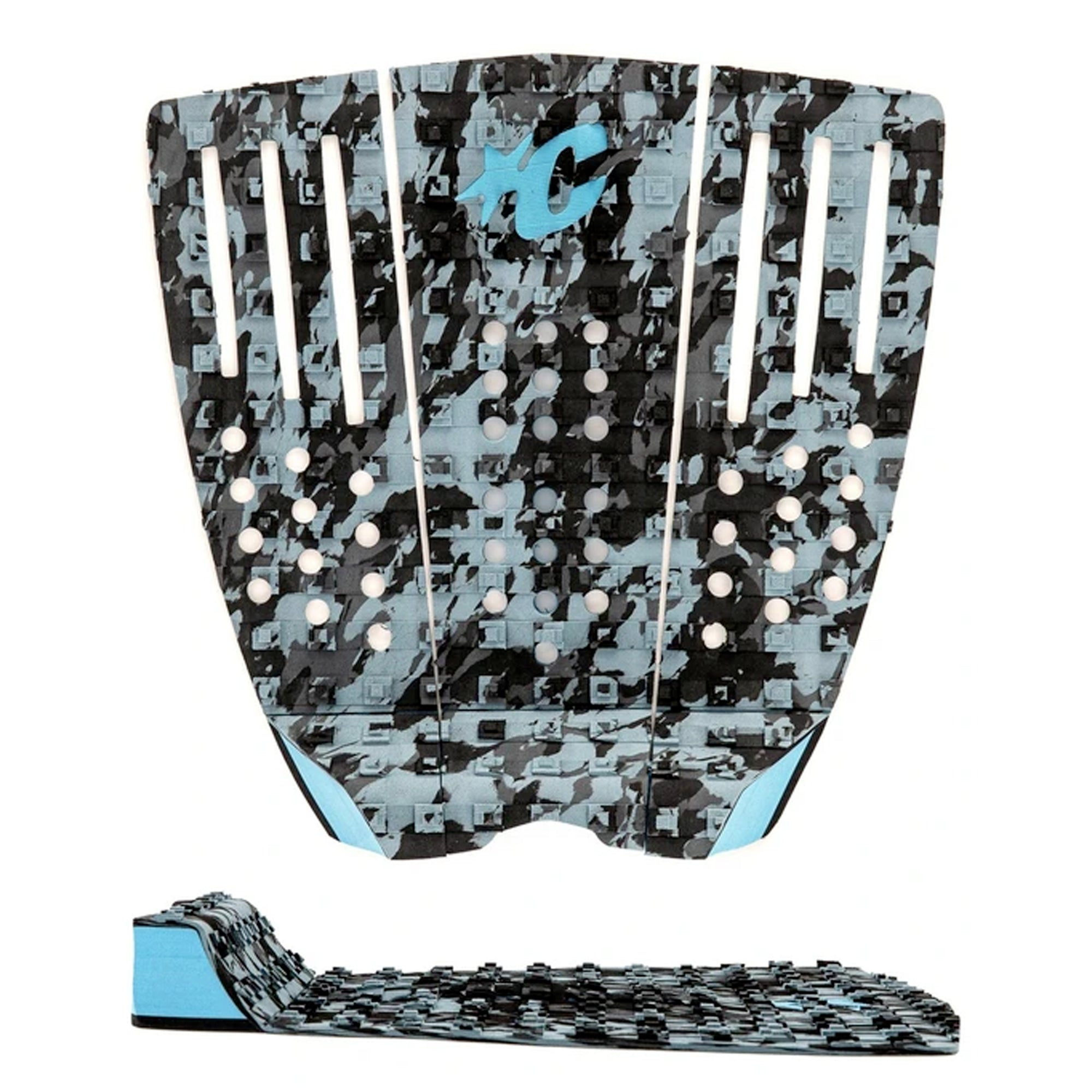 Creatures of Leisure Reliance III Traction Pad - Marine Camo Cyan