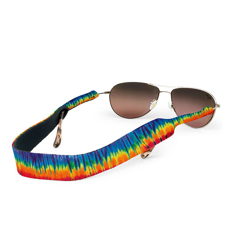 Croakies Original Eyewear Retainers - Jammin On Tie-Dye