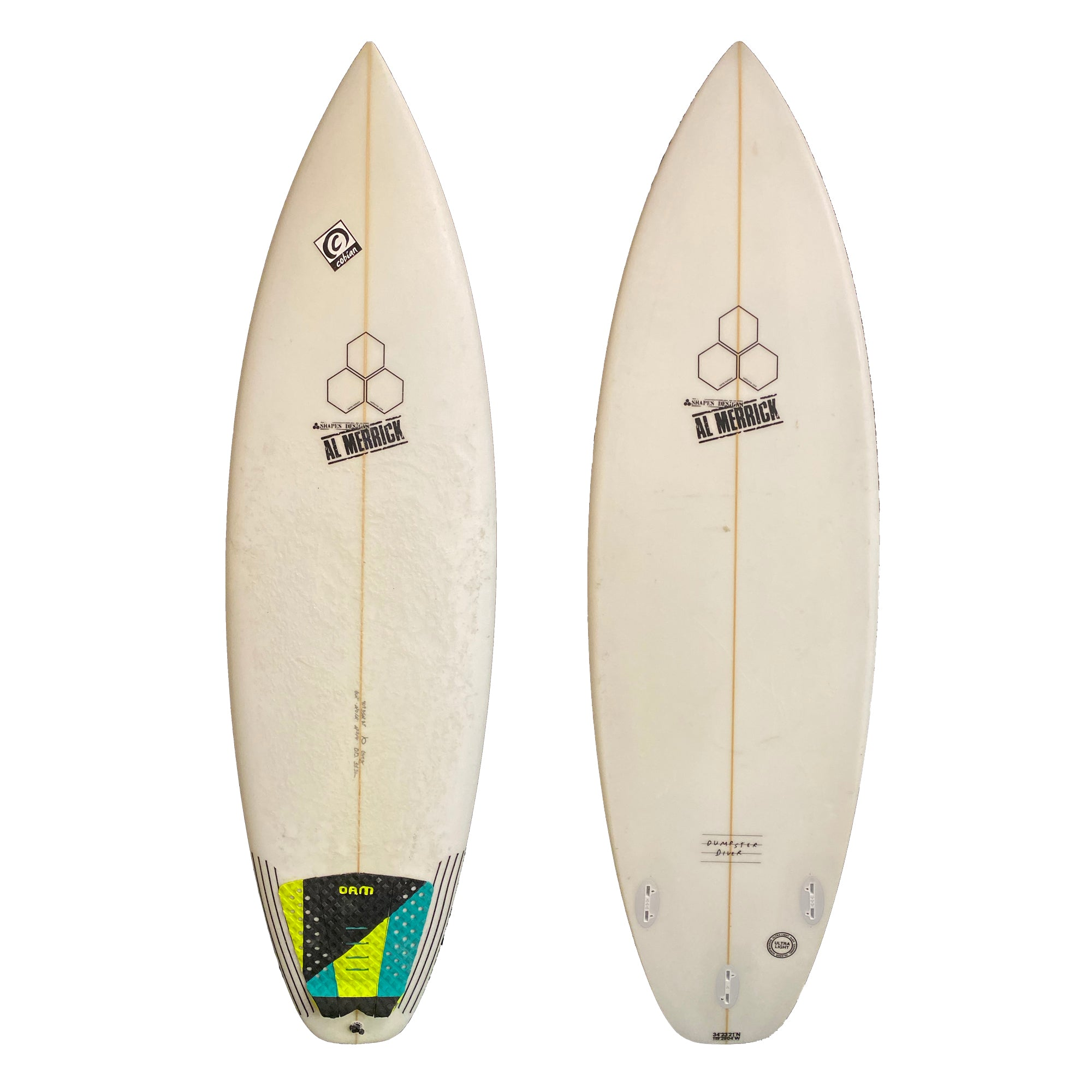 Channel Islands Dumpster Diver 6'2 Used Surfboard