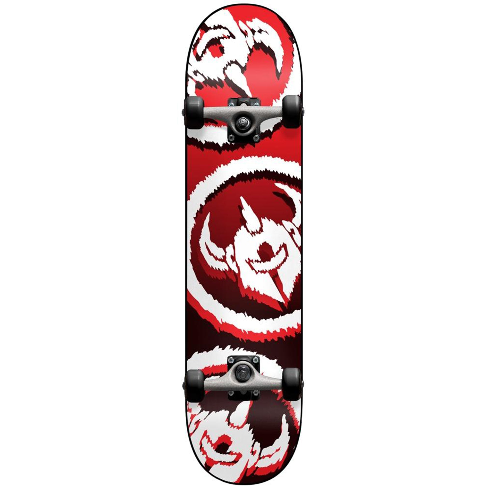 Darkstar Dissent 7.5 Complete Skateboard - Red