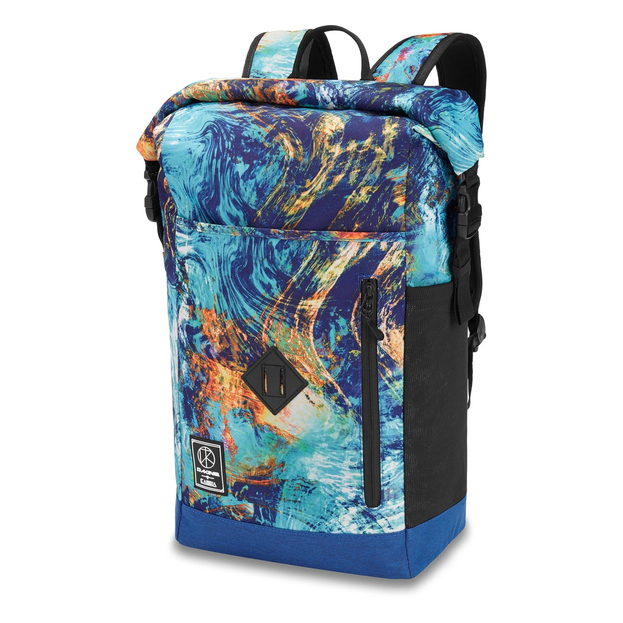 Dakine Mission Surf Roll Top 28L Backpack - Kassia Elemental
