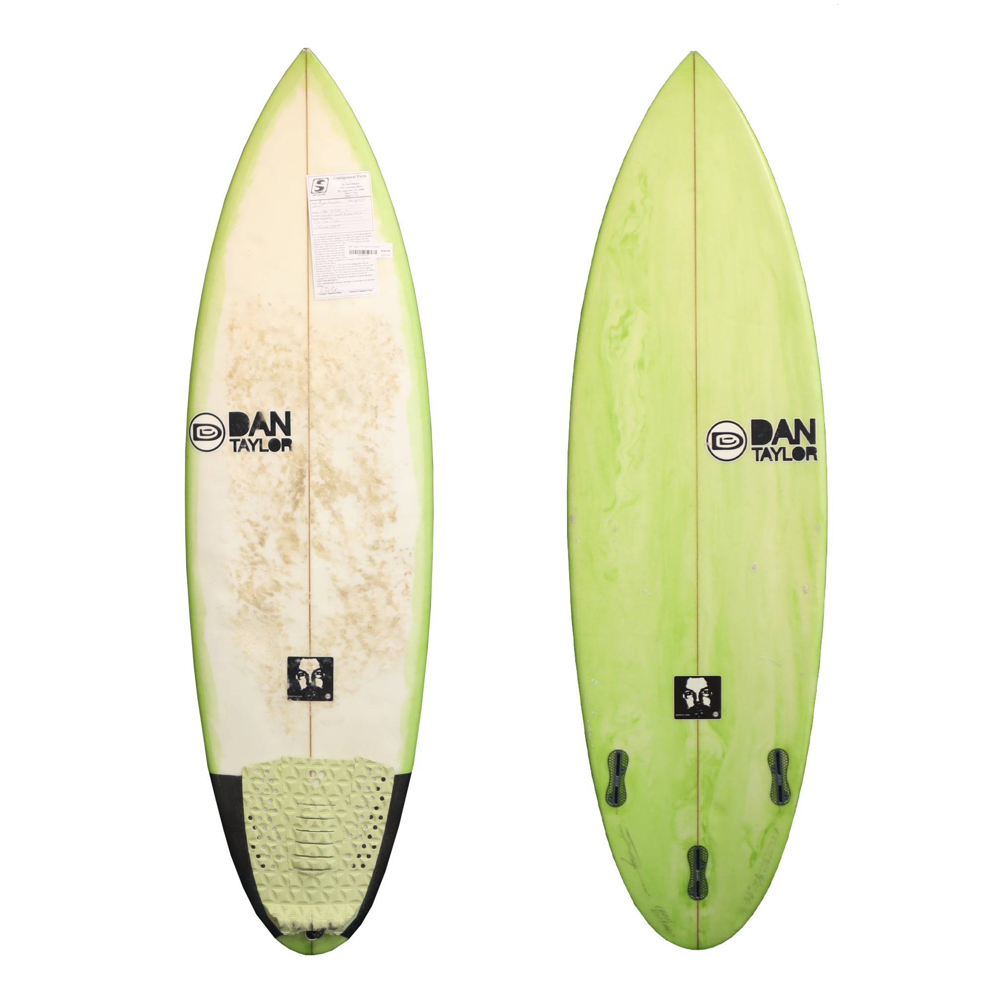 Dan Taylor 5'6 Used Surfboard