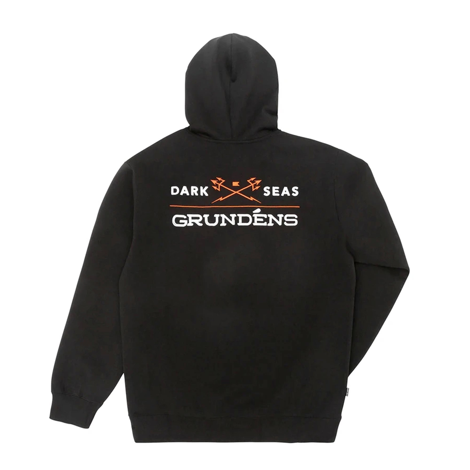 Dark Seas x Grundens Waterline Men's Fleece Pullover Hoodie