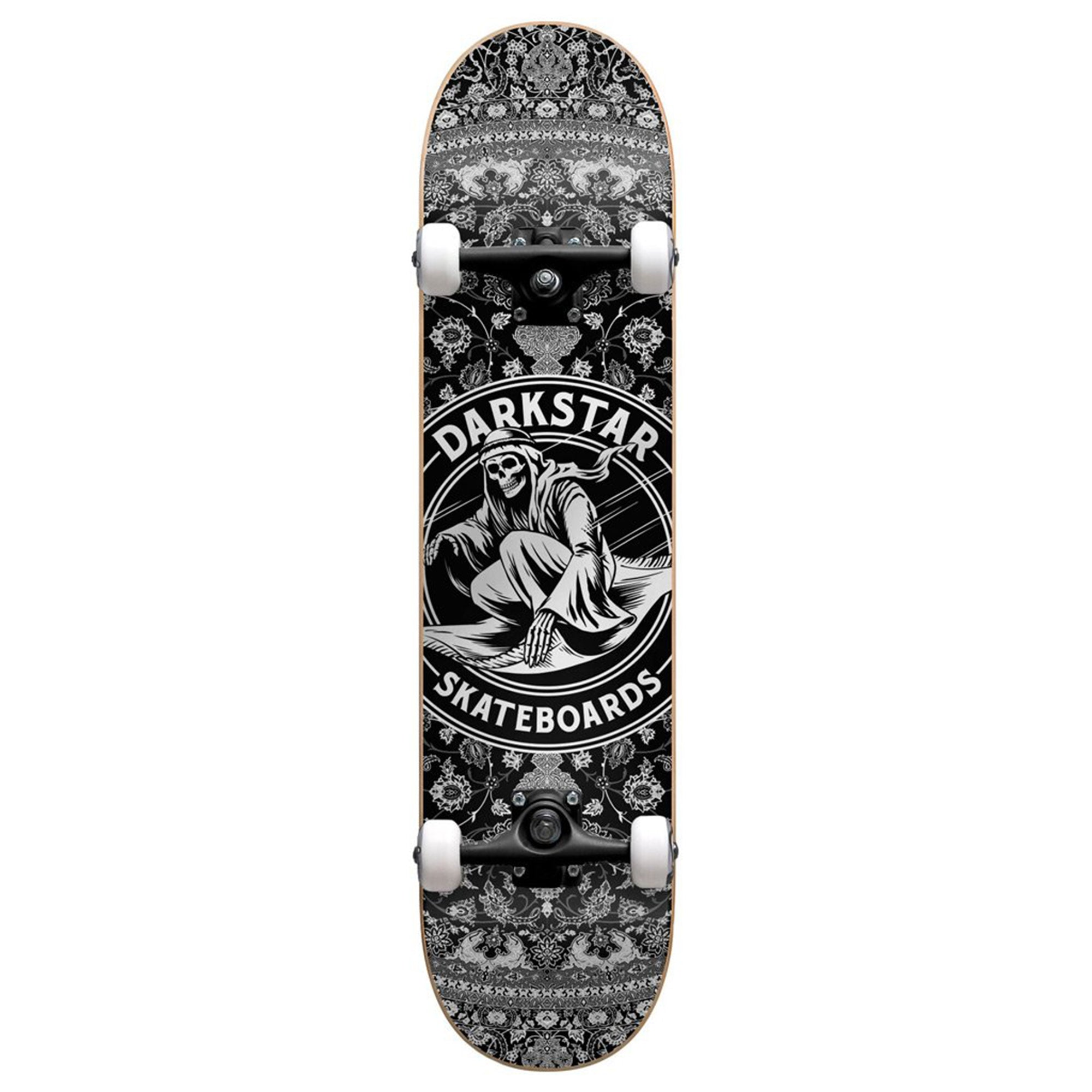 Darkstar Magic Carpet 8.0 Complete Skateboard - Gunsmoke