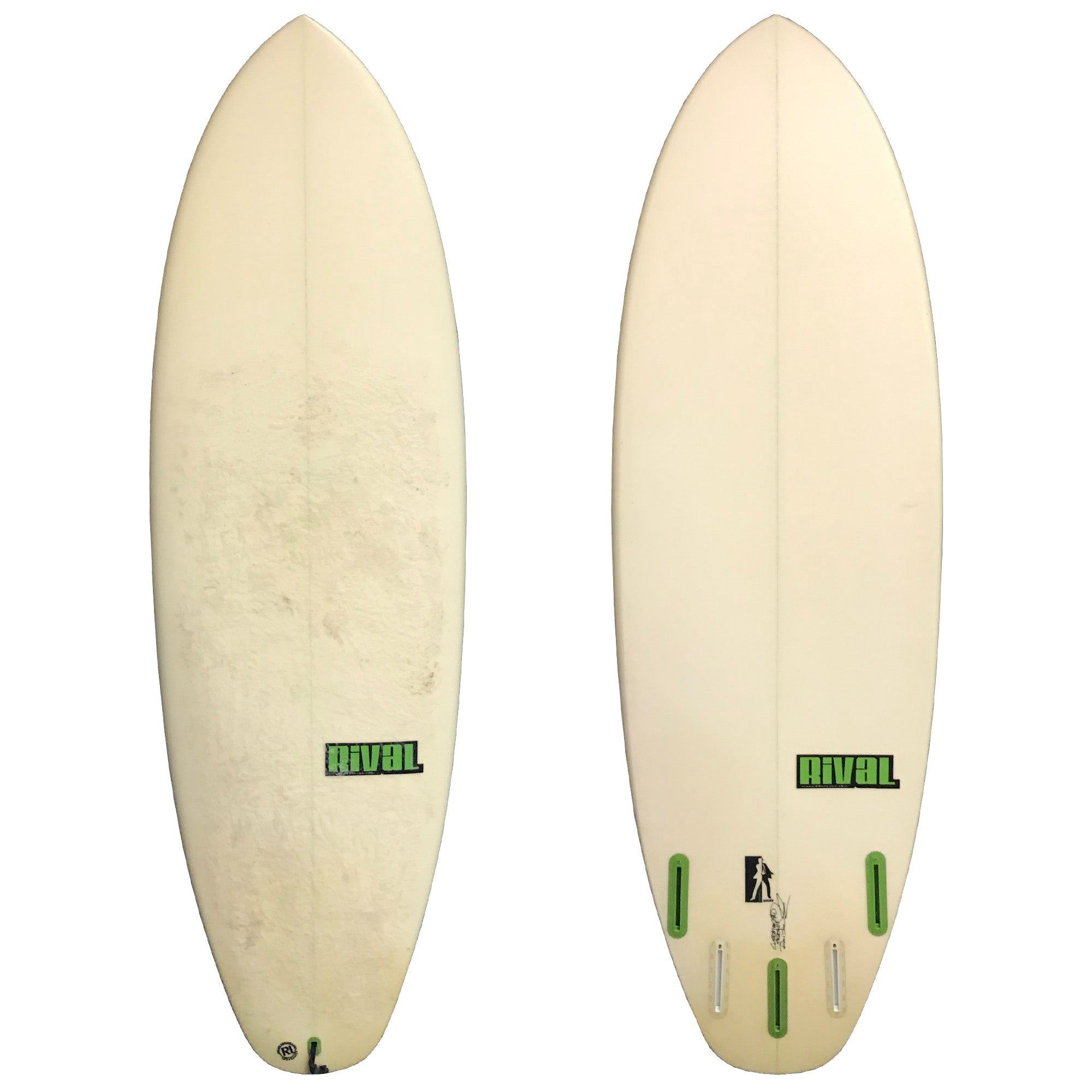 Rival Surfboards Double Agent 5'9 Used Surfboard