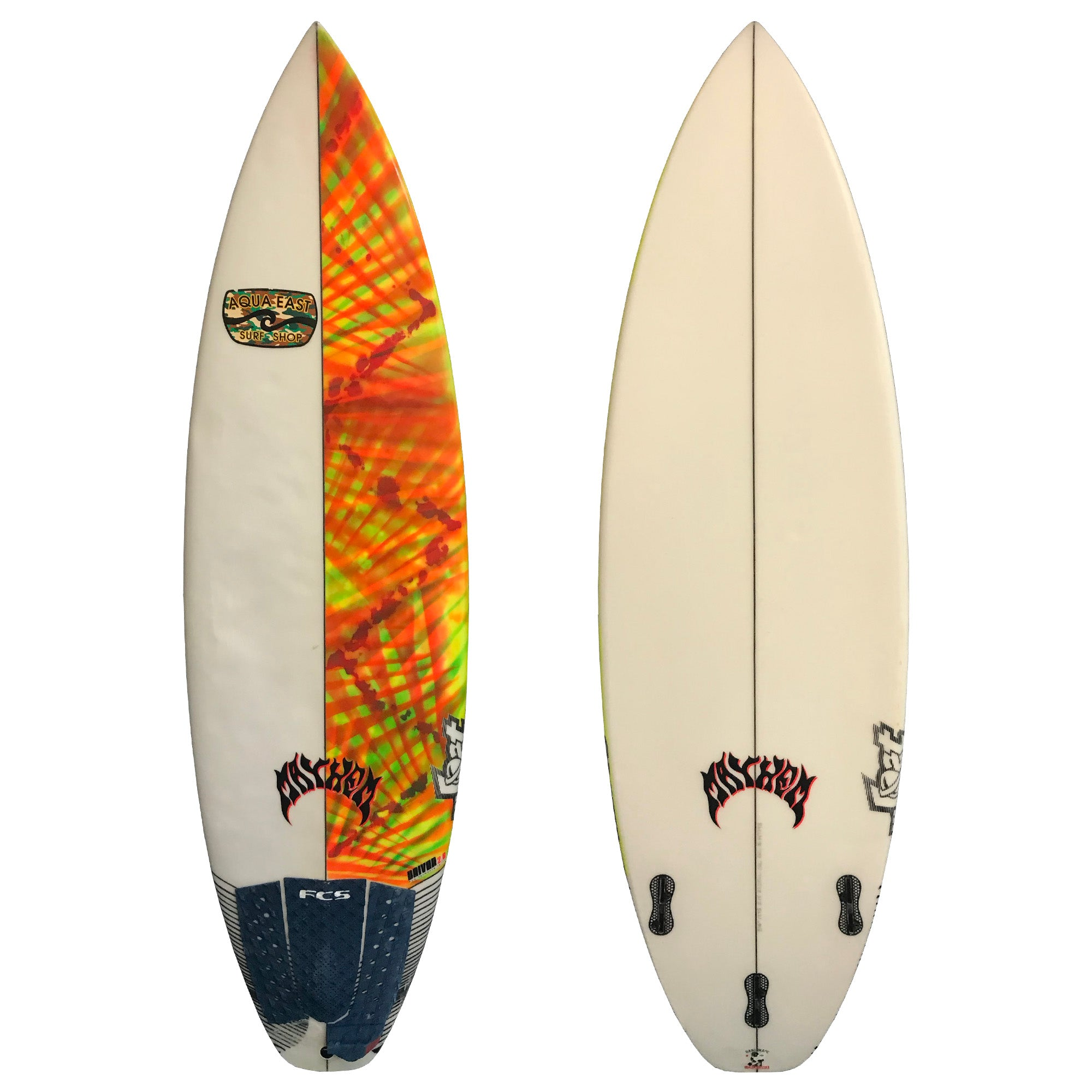 Lost Driver 2.0 5'4 Used Surfboard