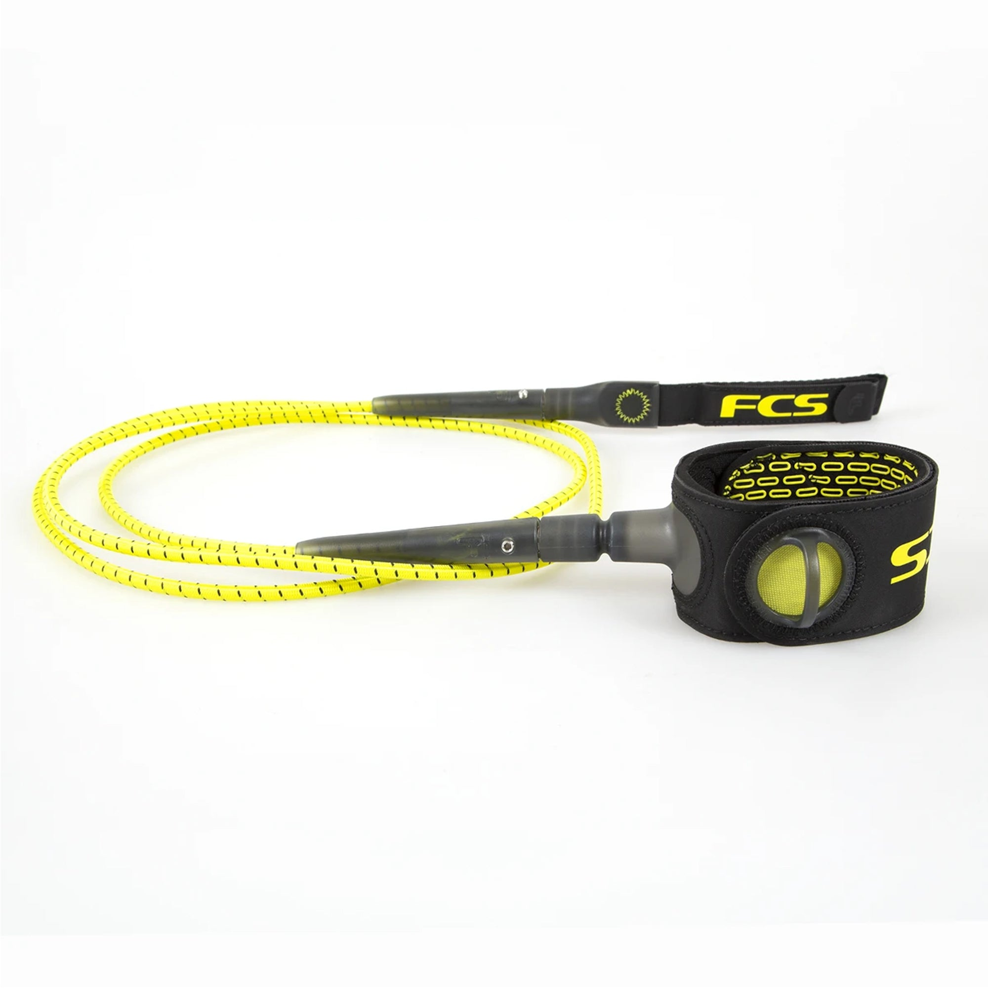 FCS Freedom 6' Surfboard Leash - Acid