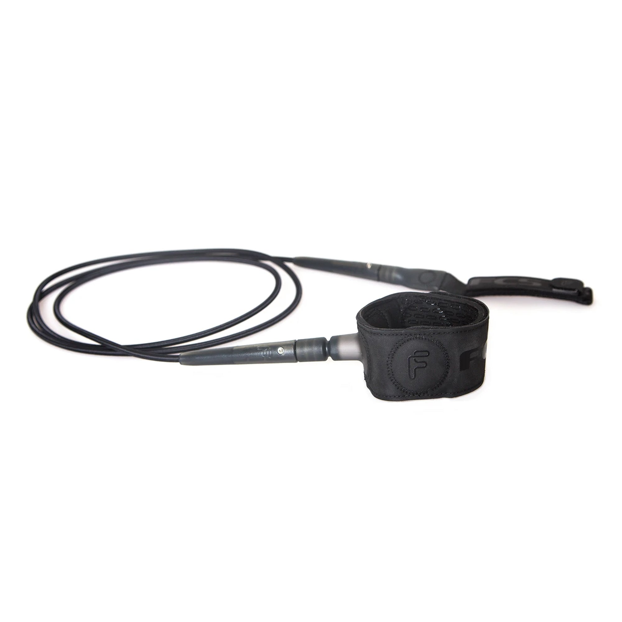 FCS Freedom 6' Surfboard Leash - Black