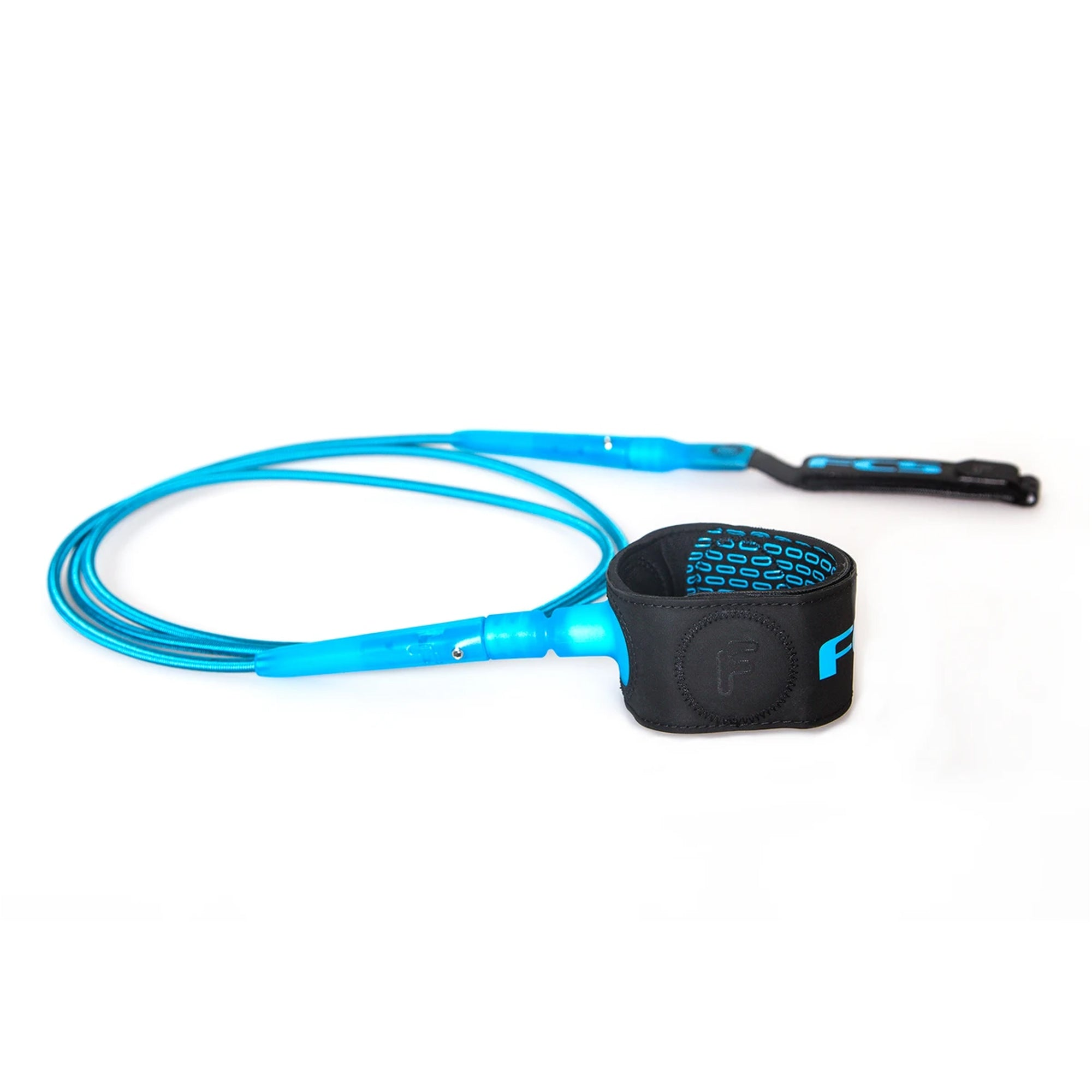 FCS Freedom 6' Surfboard Leash - Blue