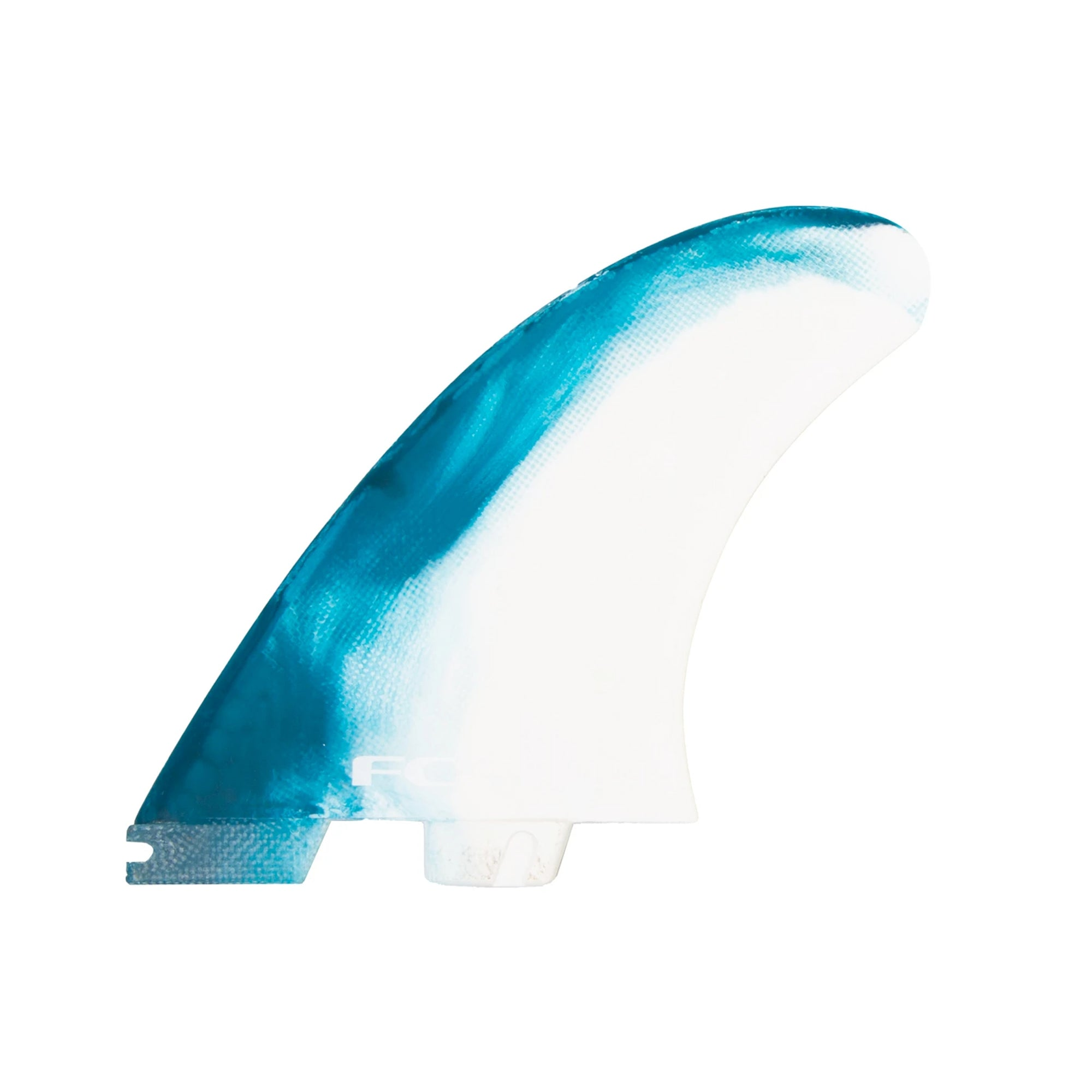 FCS II MR PC X-Large Twin + Stabilizer Fin Set - Dusty Blue