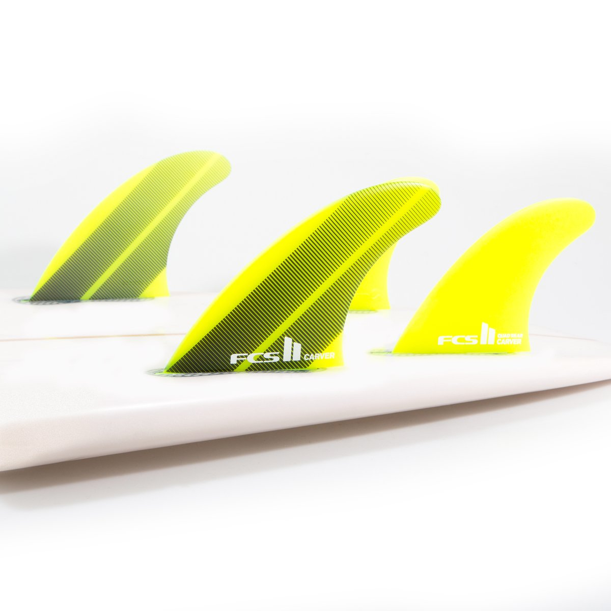 FCS II Carver Neo Glass Thruster Fin Set - Large