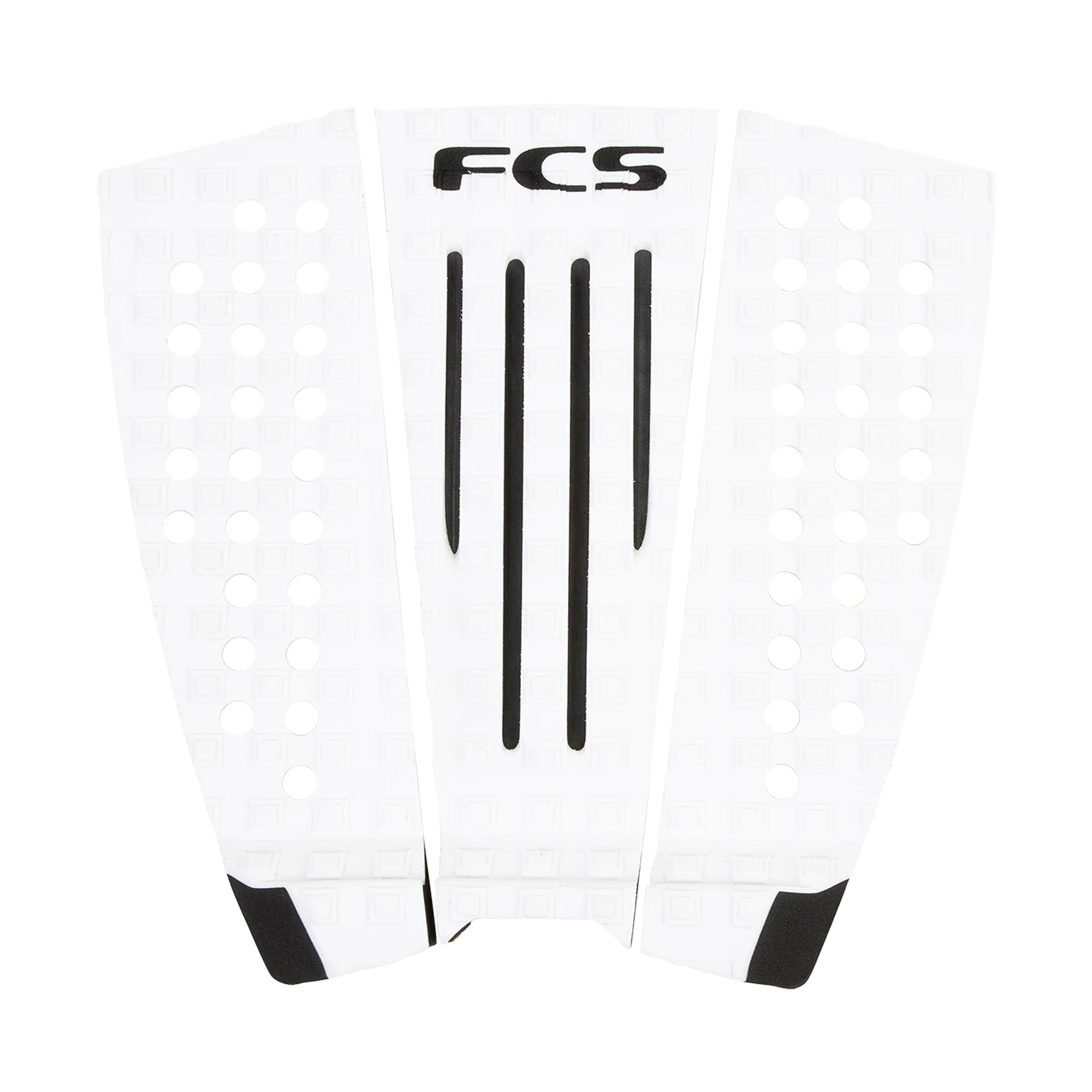 FCS Julian Wilson Arch Traction Pad - White/Black