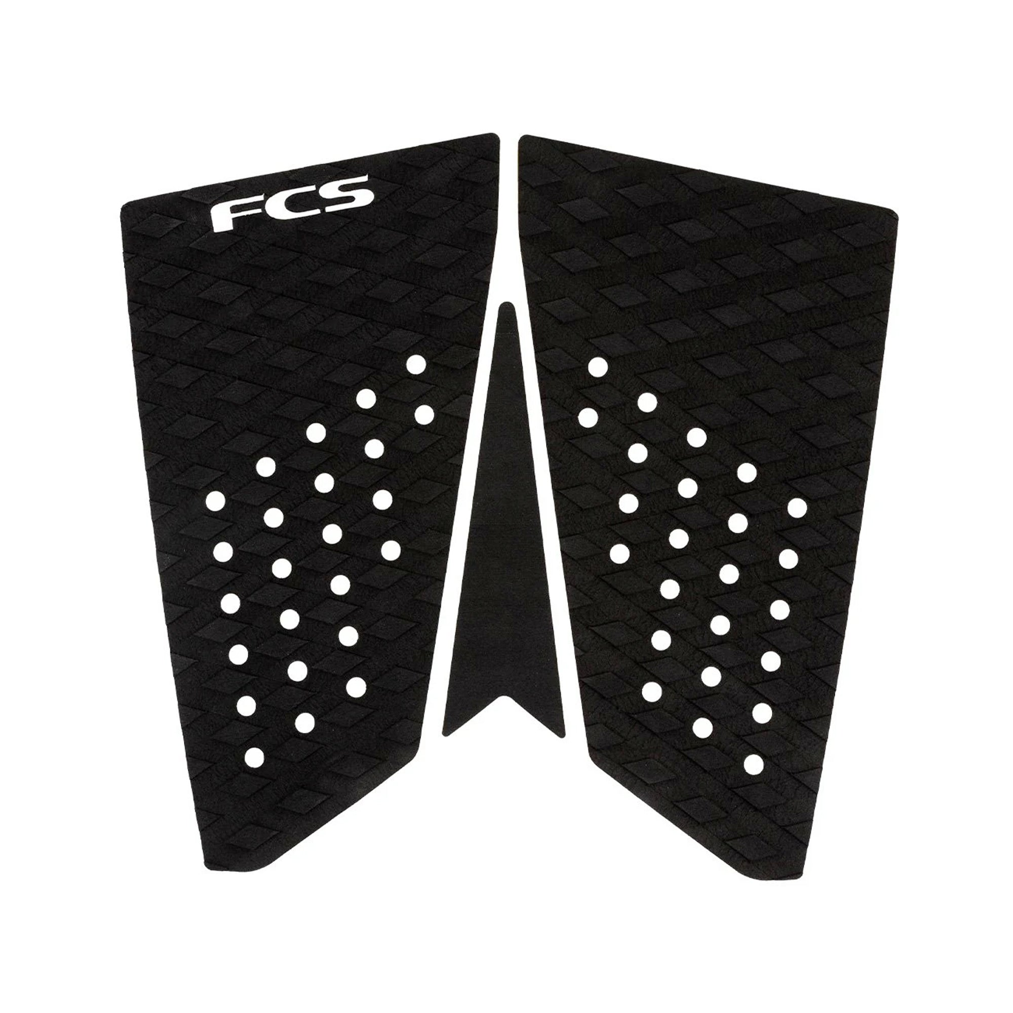 FCS T-3 Fish Essential Series Traction Pad - Black