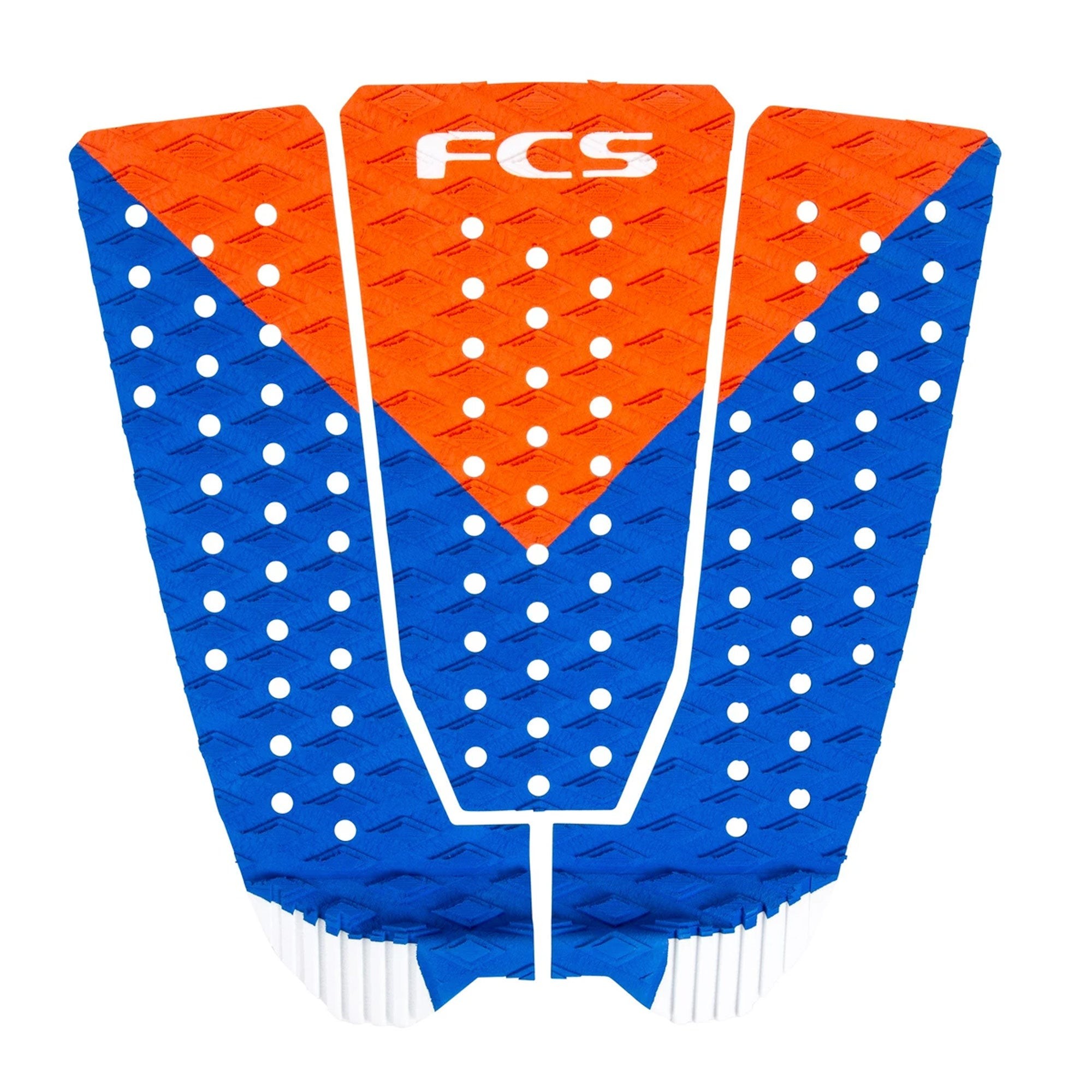FCS Kolohe Andino Flat Traction Pad - Red/Blue