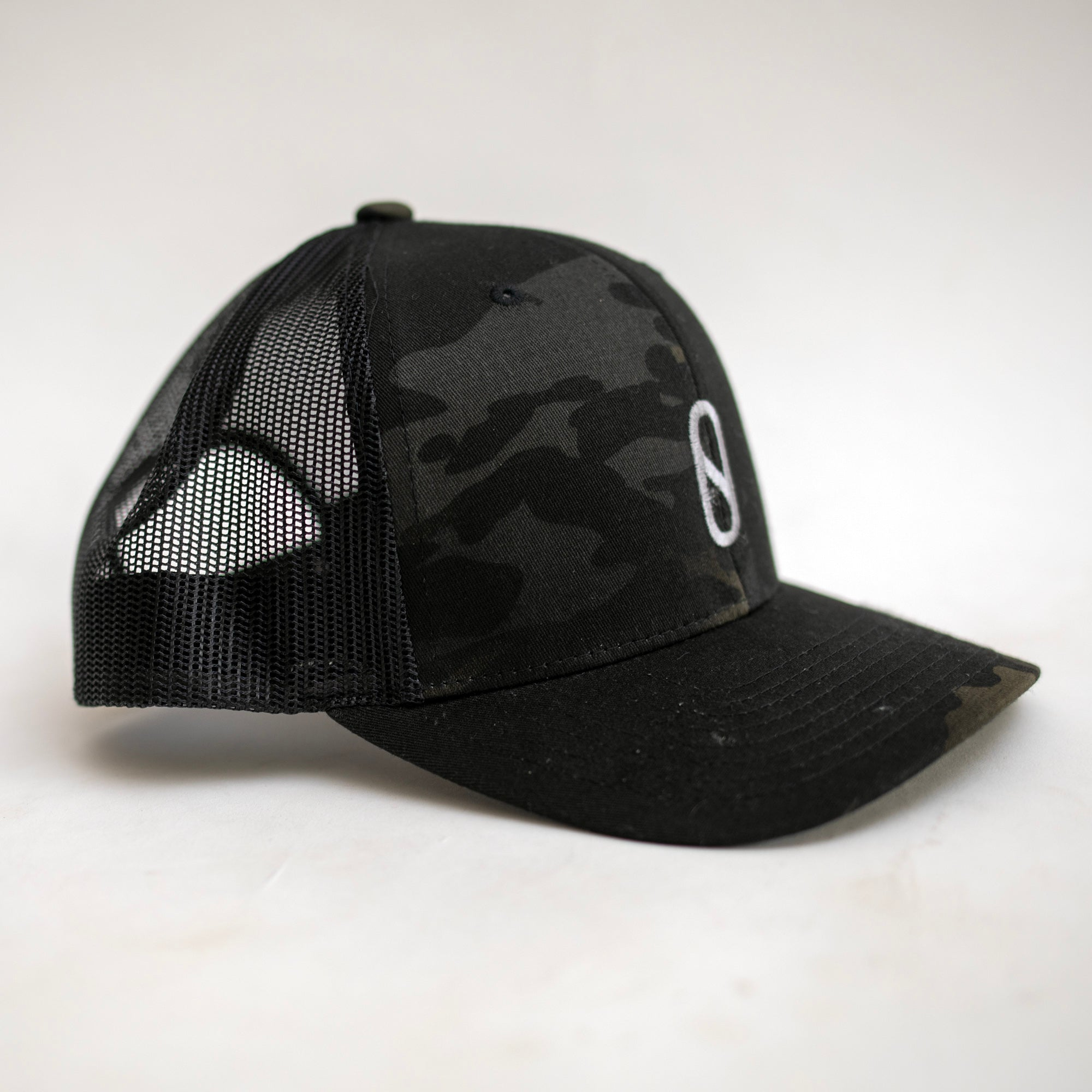 Firewire Slater Designs Pill Trucker Hat - Black/Dark Camo