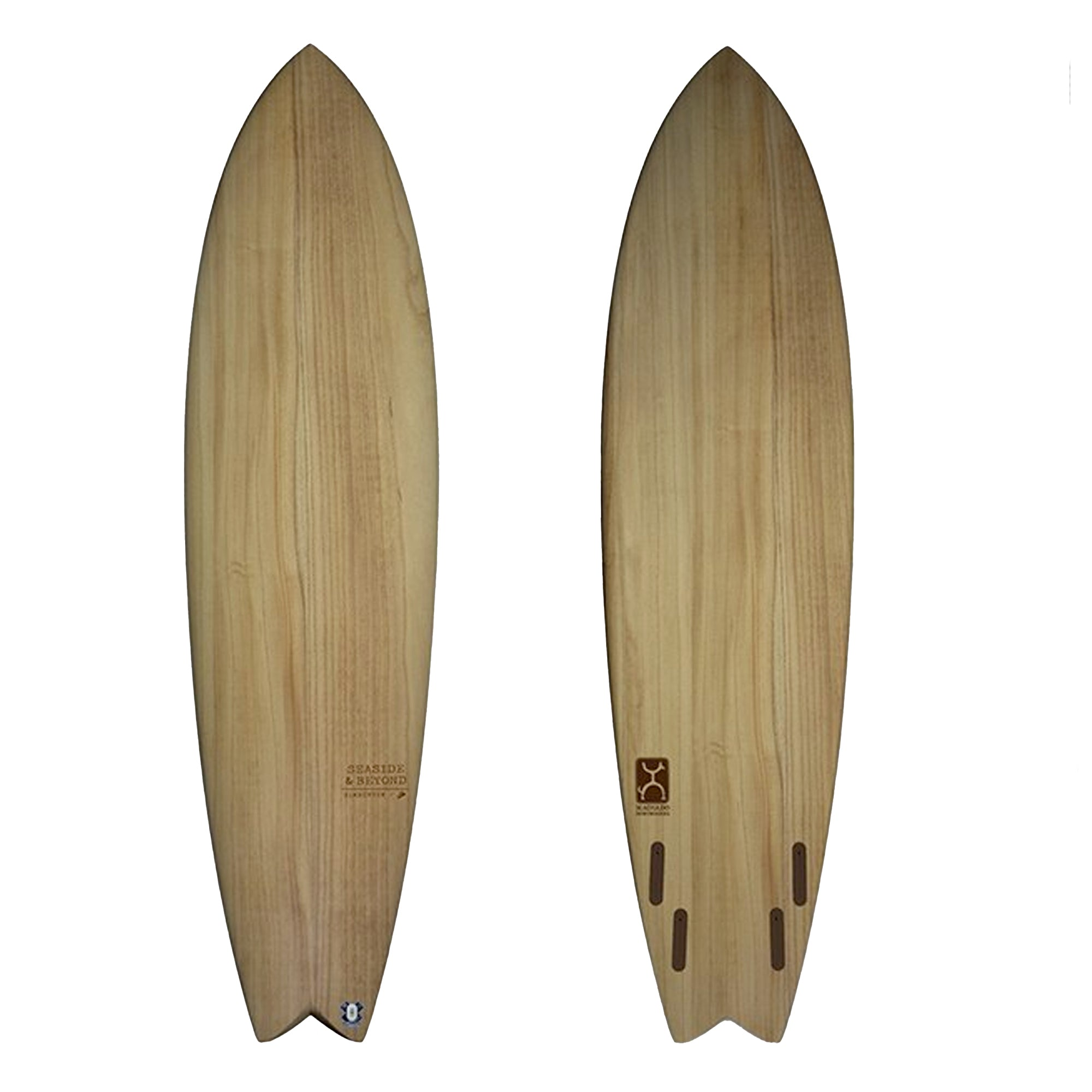 Firewire Seaside & Beyond TimberTek Surfboard - Futures