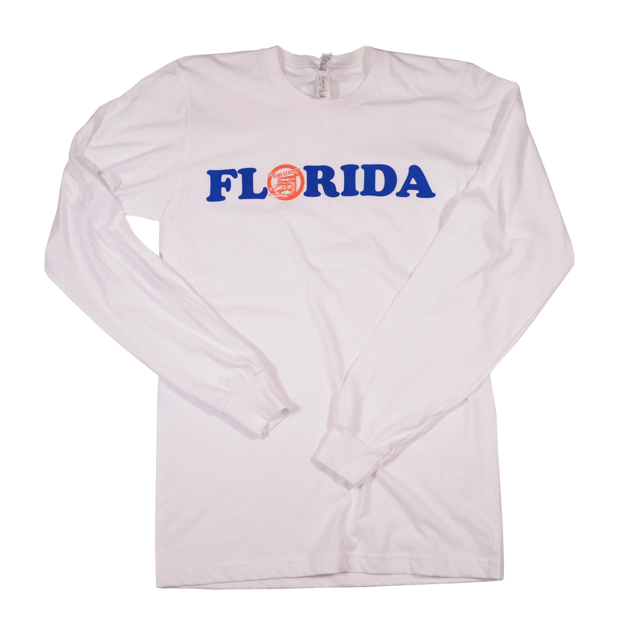 Surf Station Florida Men's L/S T-Shirt