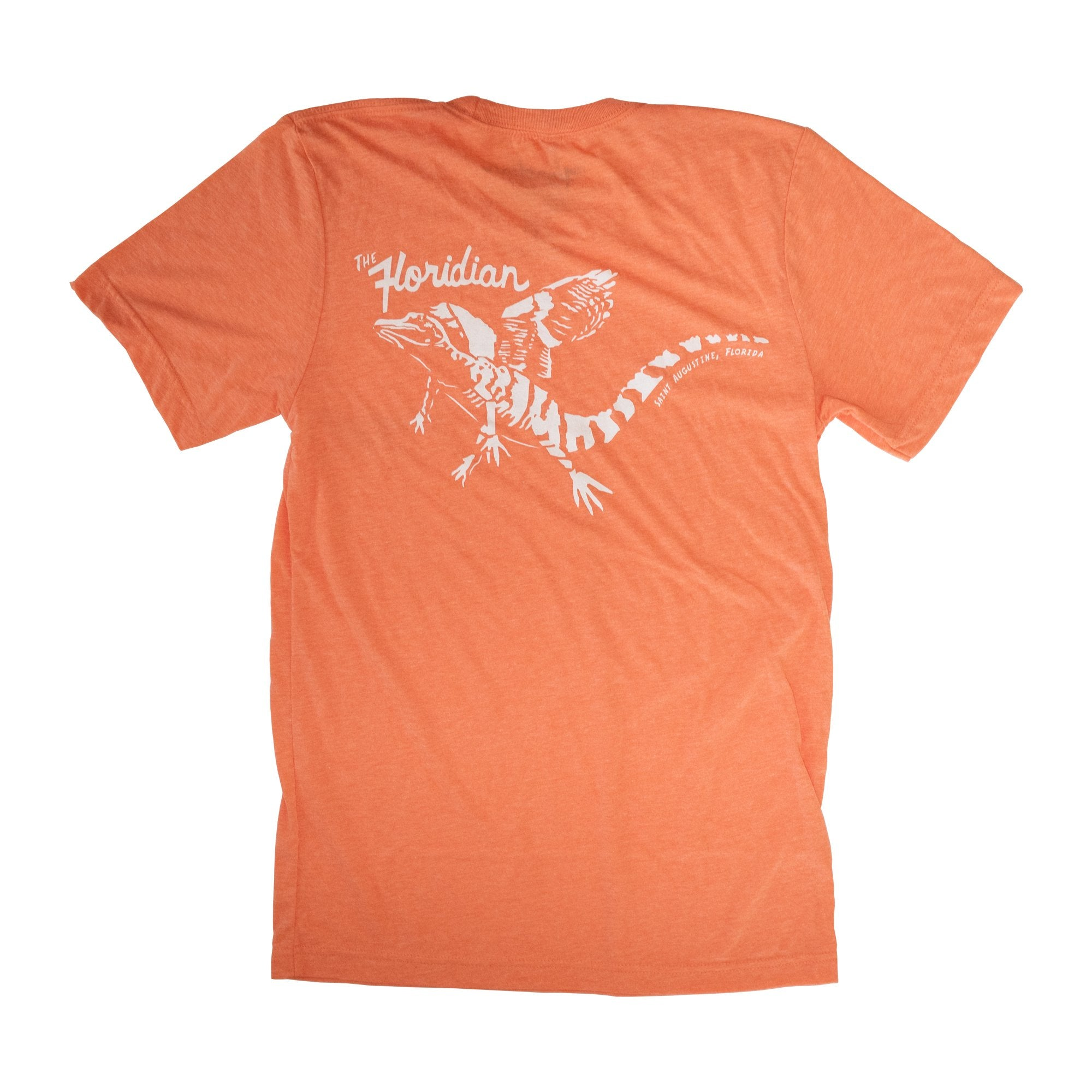 Surf Station The Floridian Flying Gator Men's S/S T-Shirt