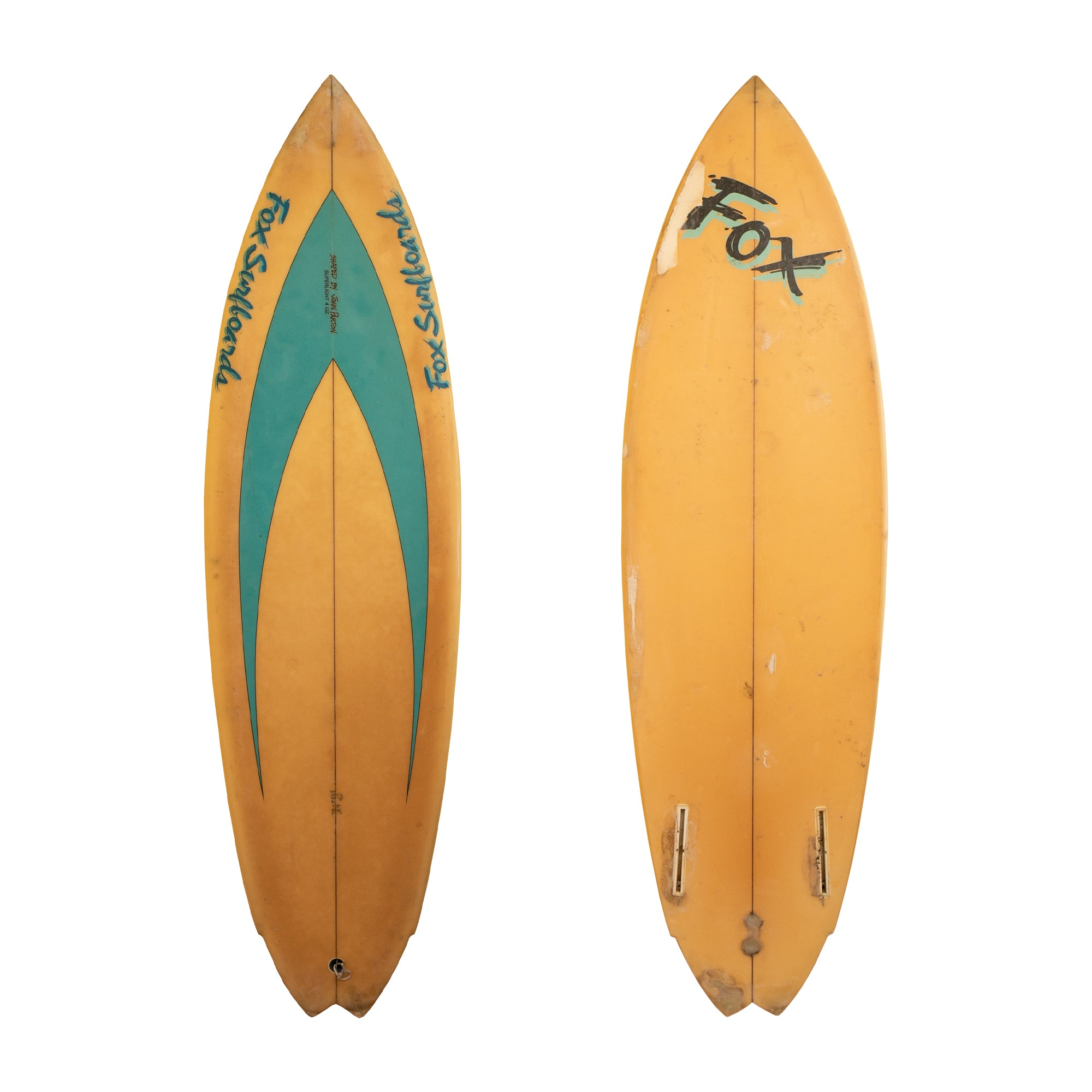 Fox Surfboards 6'5 Collector Surfboard
