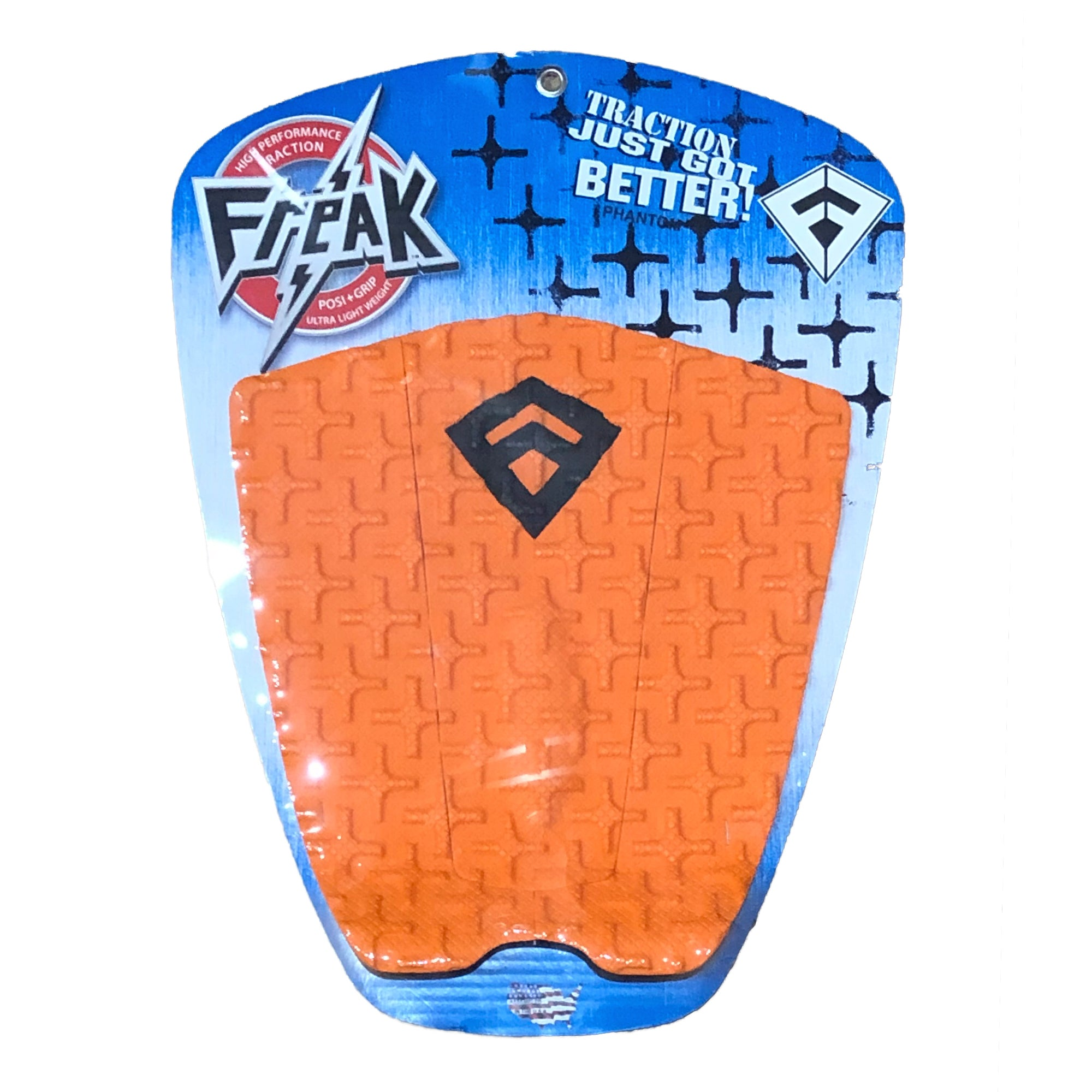Freak Phantom Traction Pad - Orange/Black