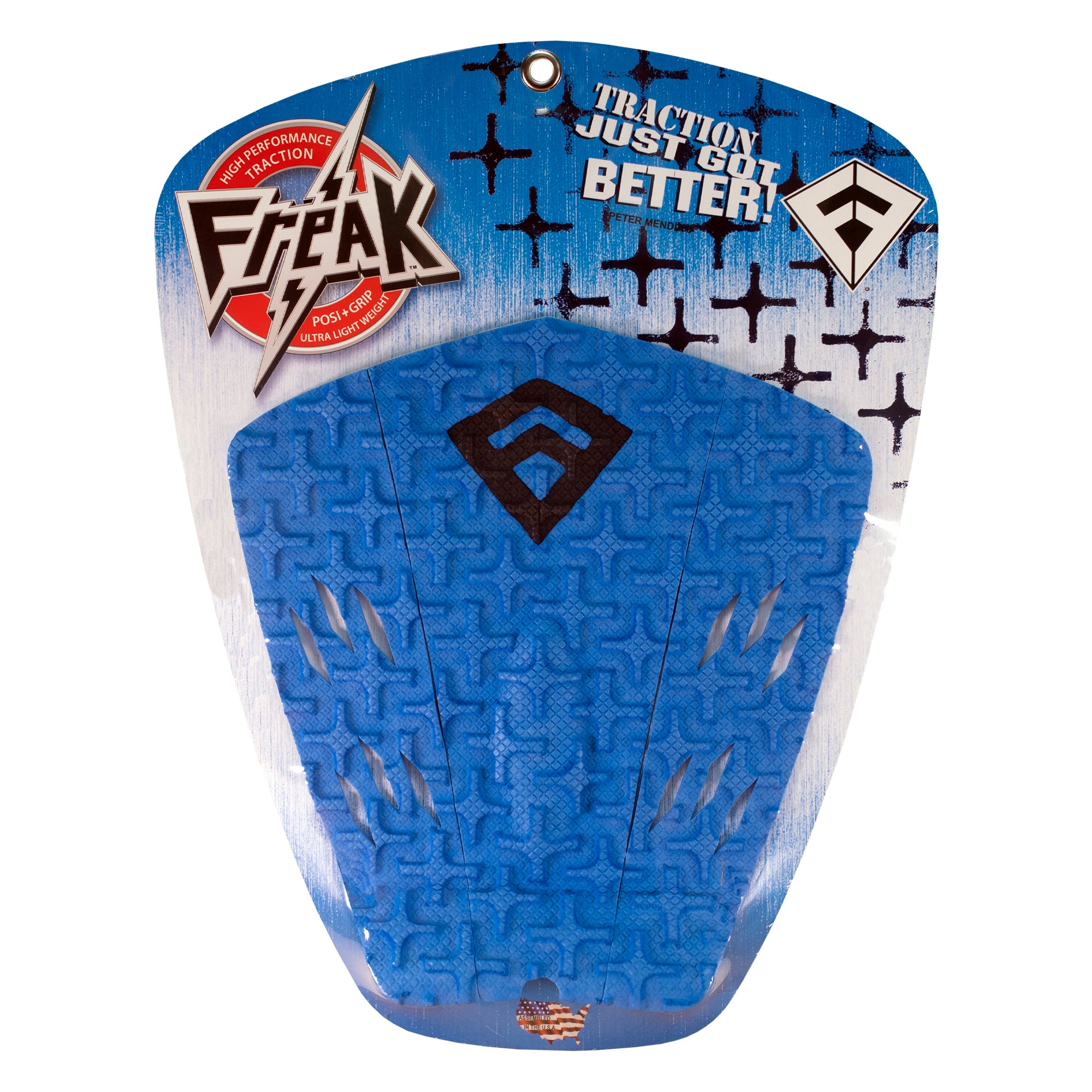 Freak Peter Mendia 3-Piece Traction Pad - Blue/Black