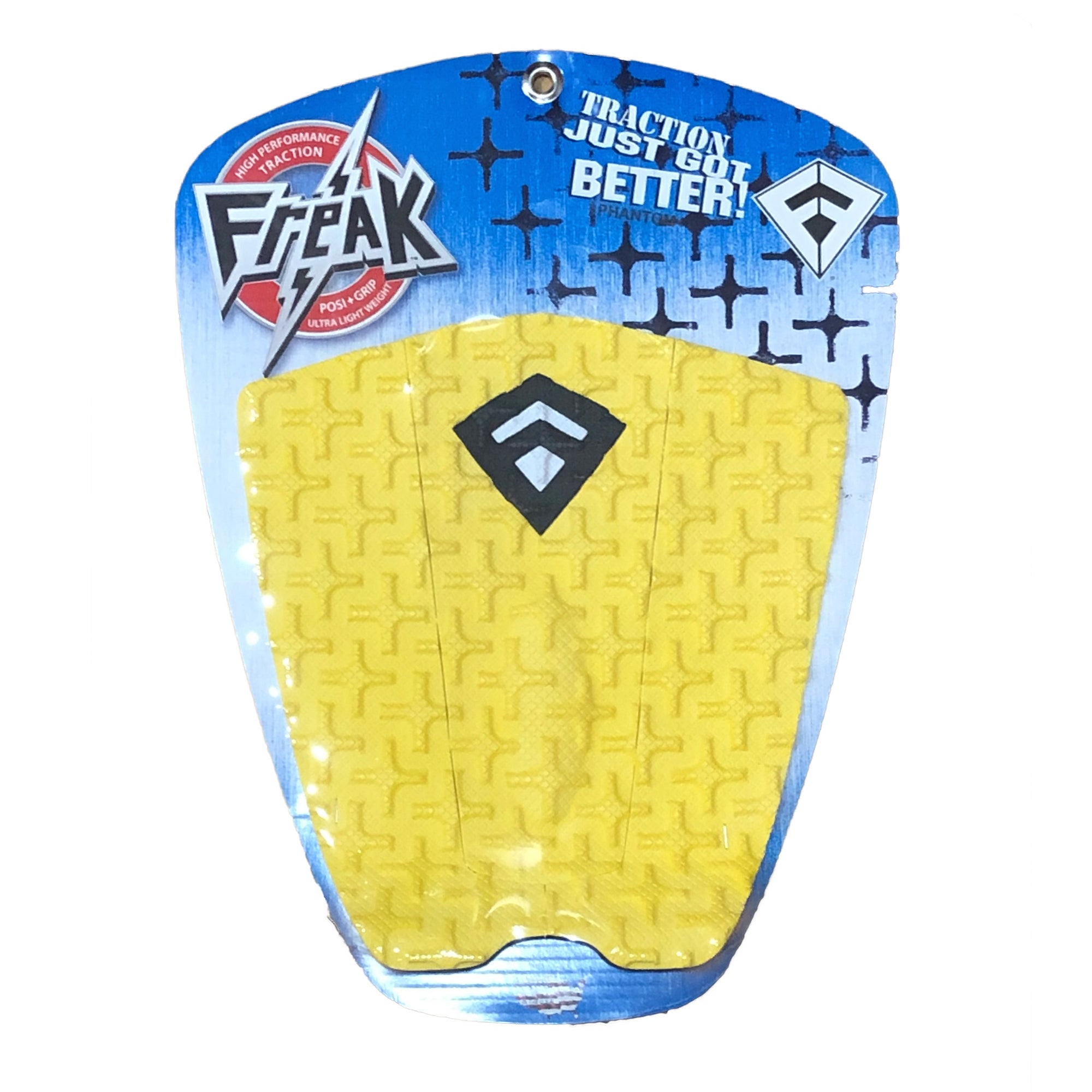 Freak Phantom Traction Pad - Yellow/Black/White