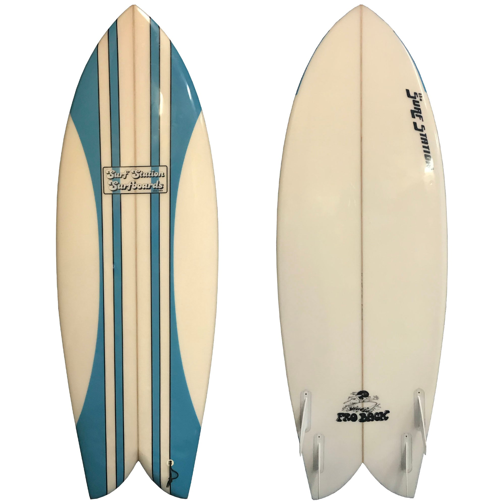 Surf Station Fro Back 5'4 Used Surfboard