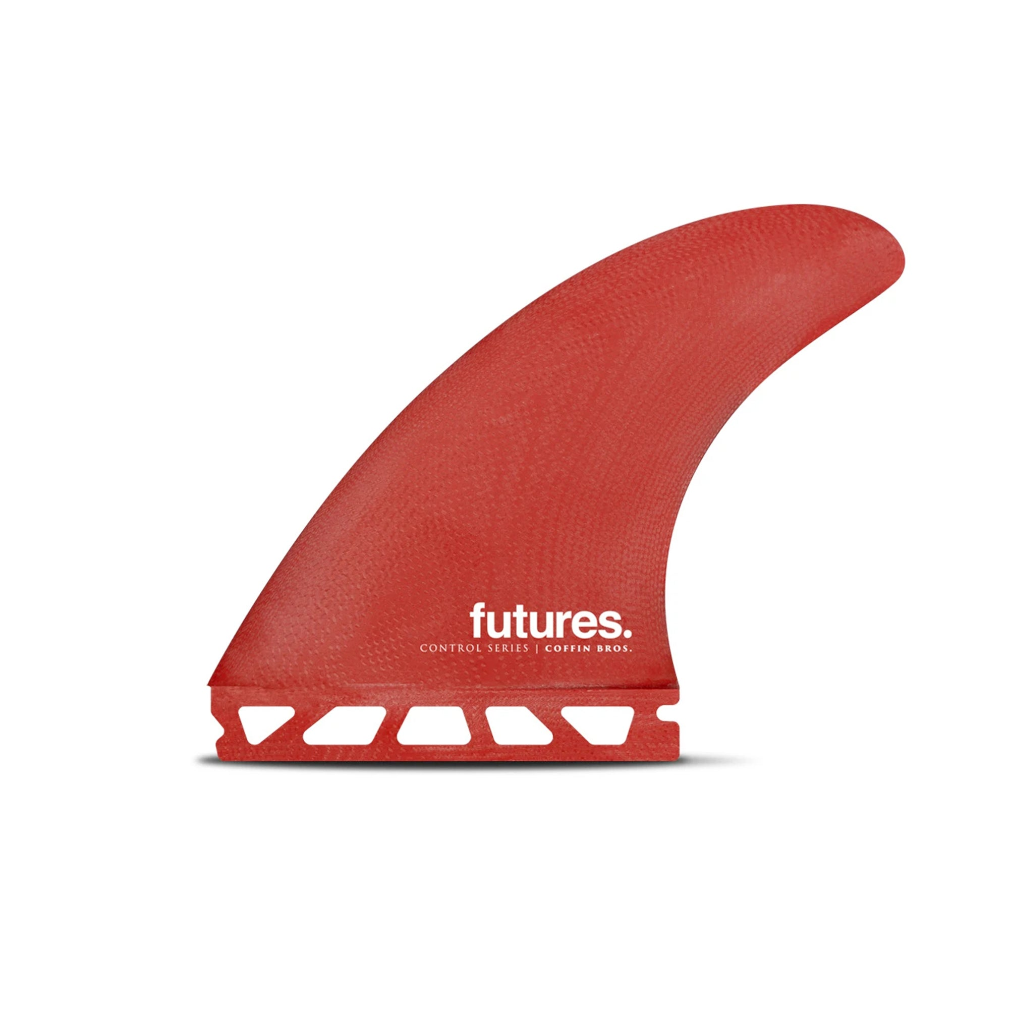 Futures Coffin Bros Fiberglass Thruster Fin Set
