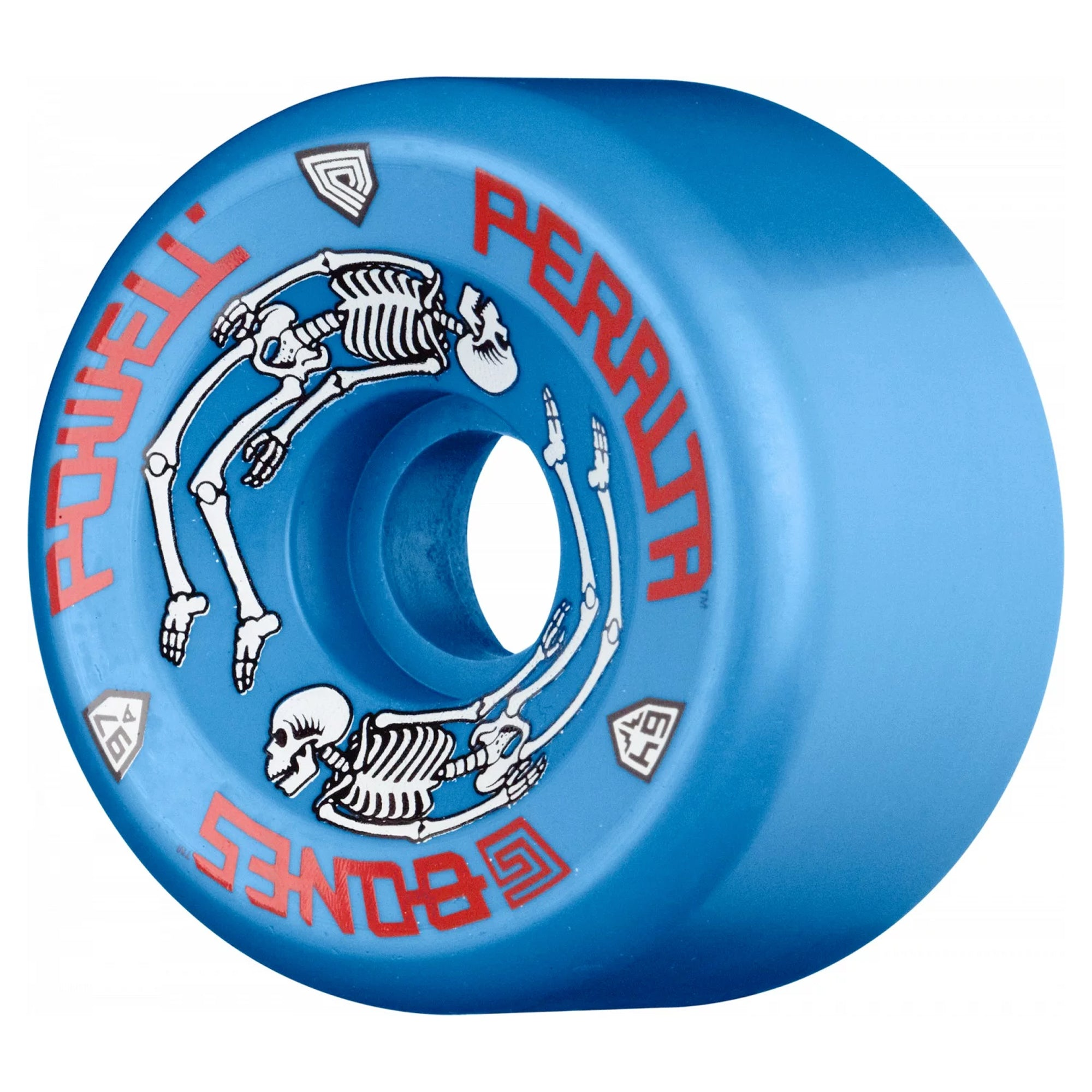 Powell Peralta G-Bones II 97A 64mm Wheels - Blue