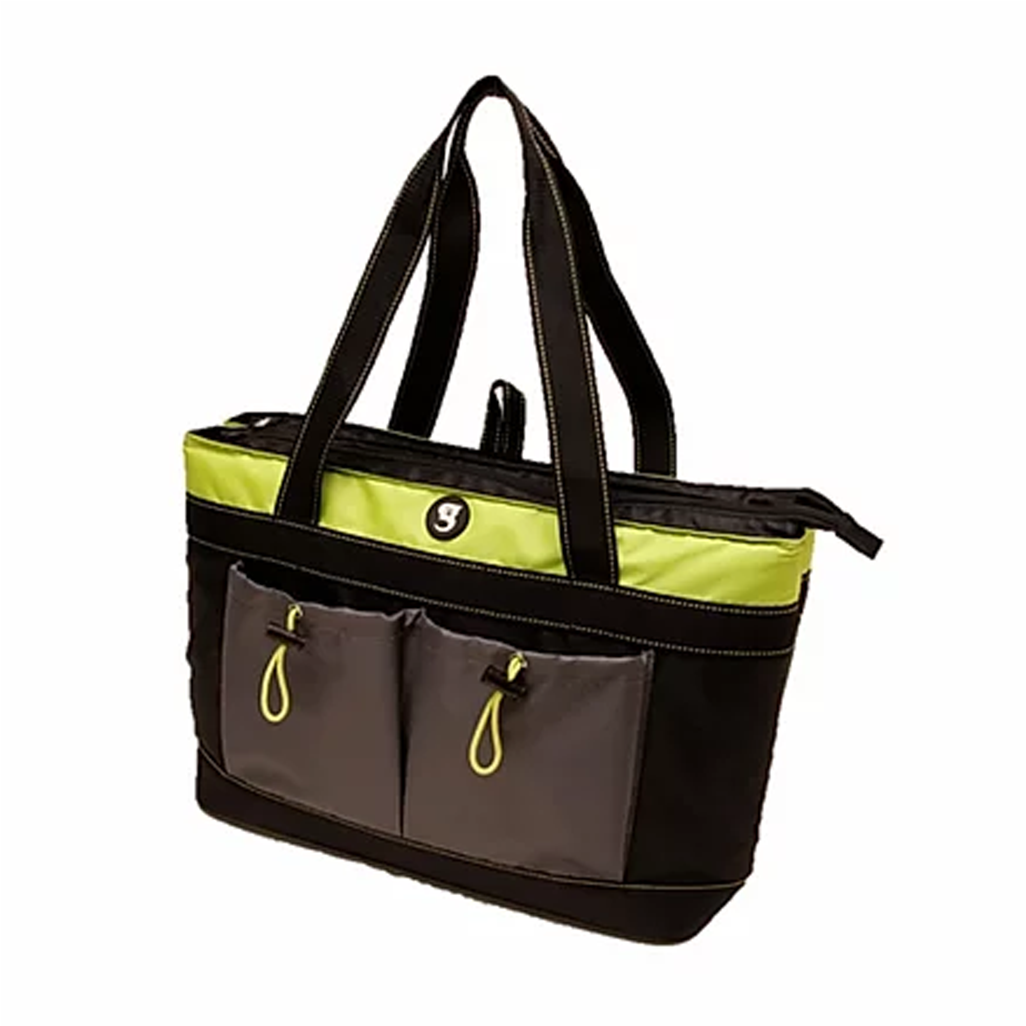 Geckobrands 2 Compartment Tote Cooler