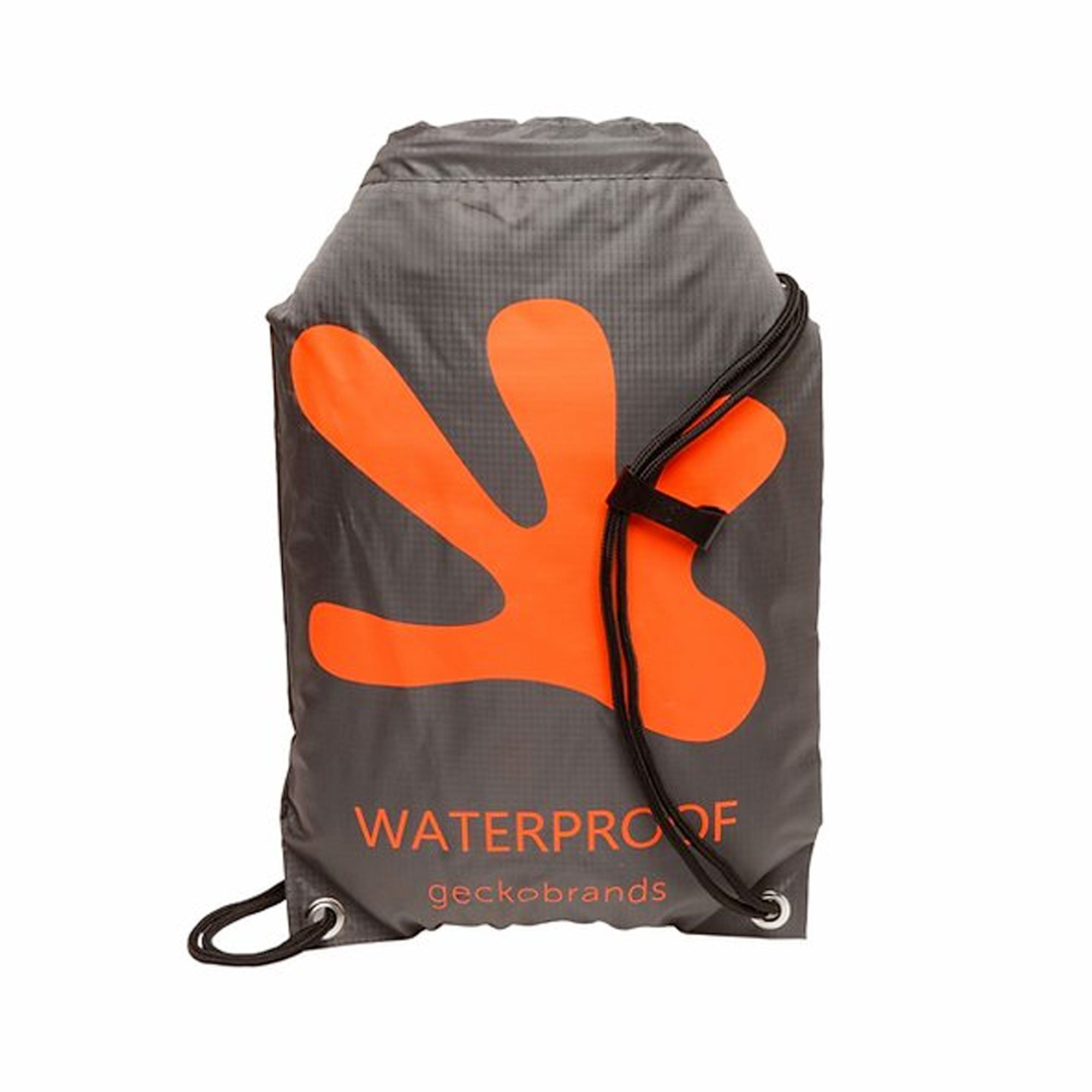 Geckobrands Waterproof Drawstring Backpack