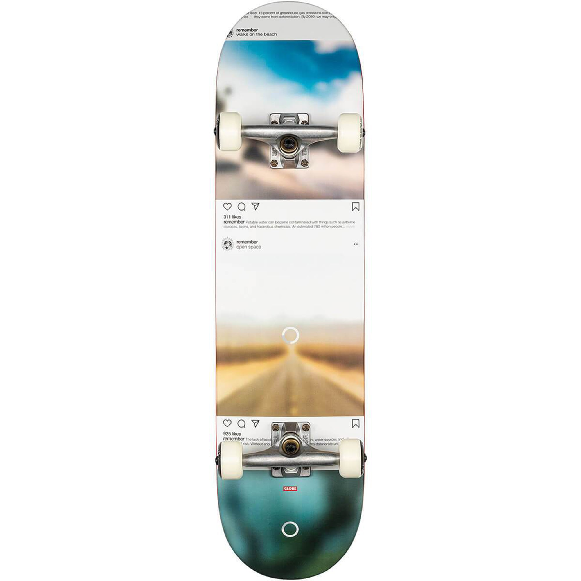 Globe G2 Sprawl Disappearing Tree Complete Skateboard 8.25""