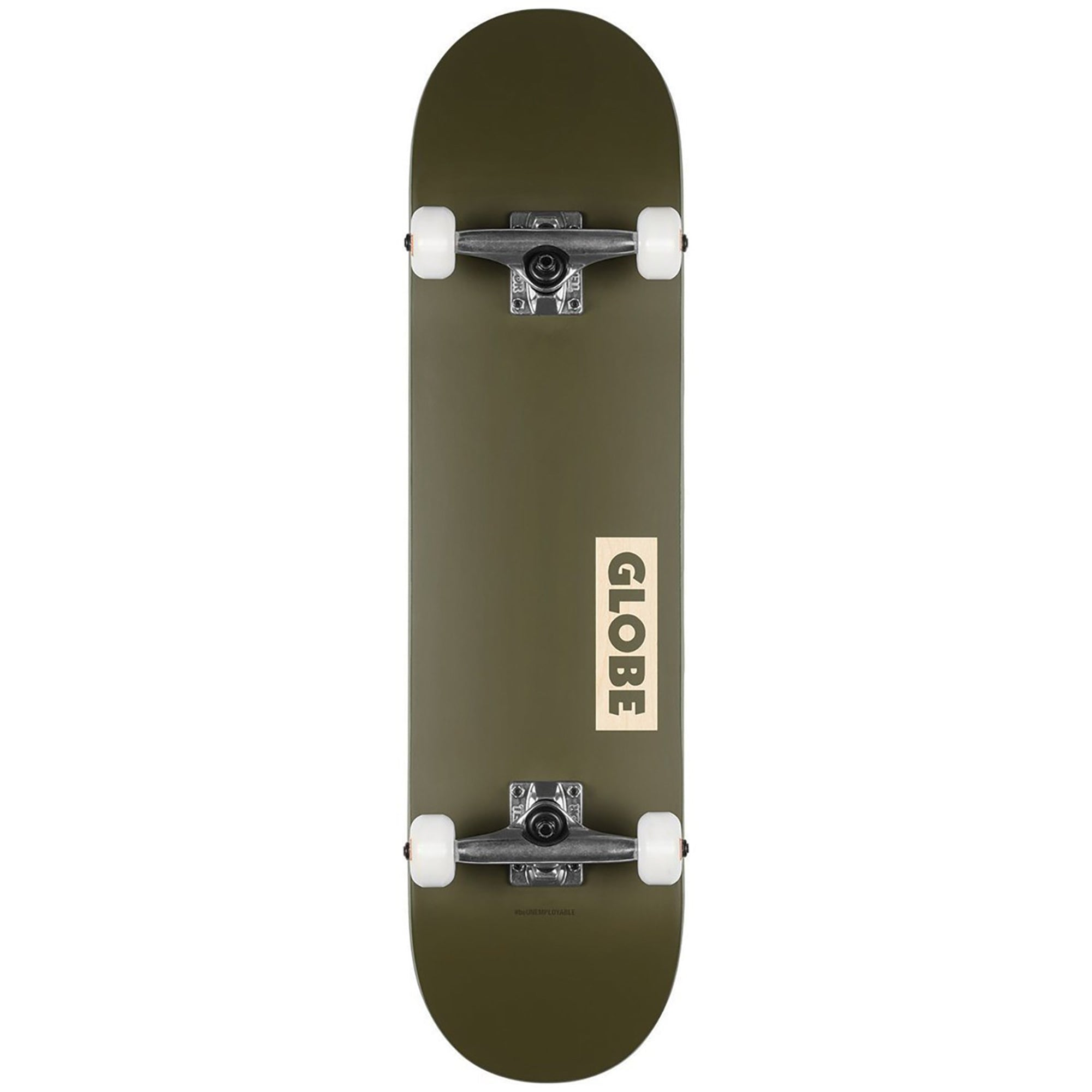 "Globe Goodstock Complete Skateboard 8.25"" - Fatigue Green"