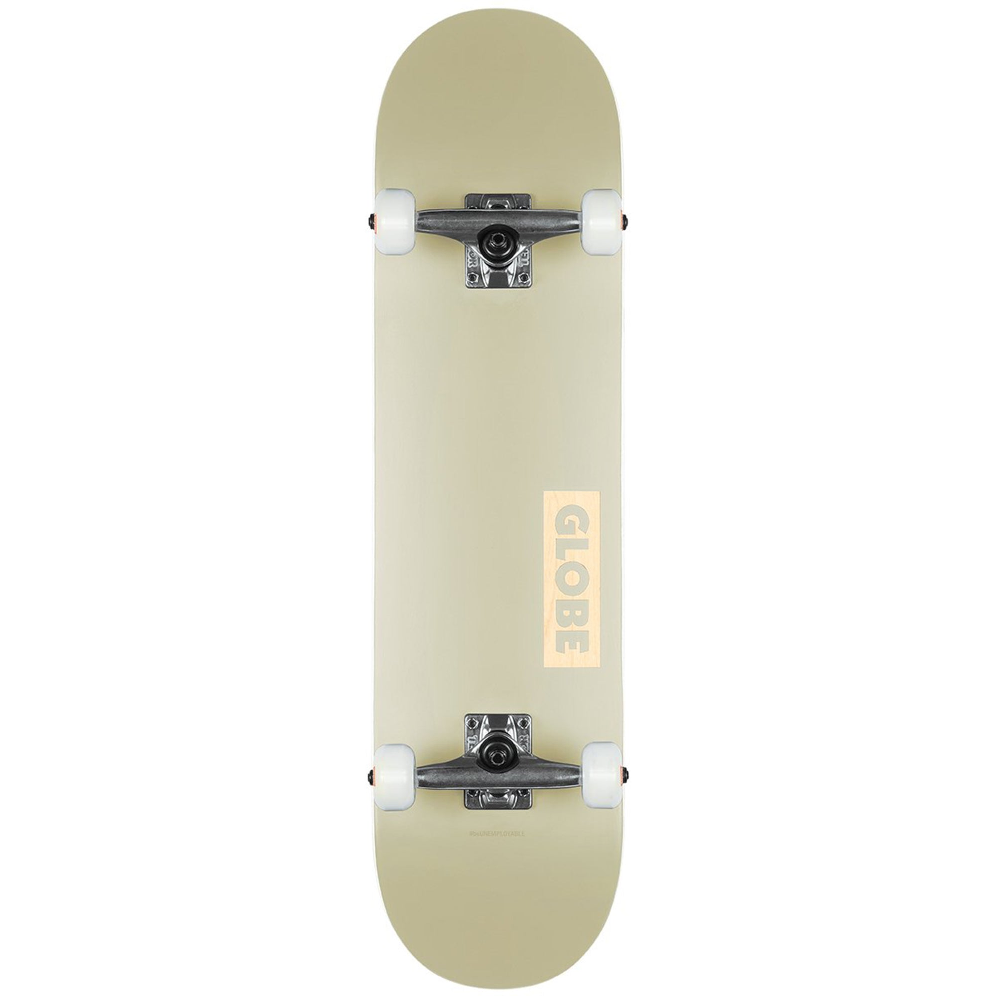 "Globe Goodstock Complete Skateboard 8.0"" - Off White"