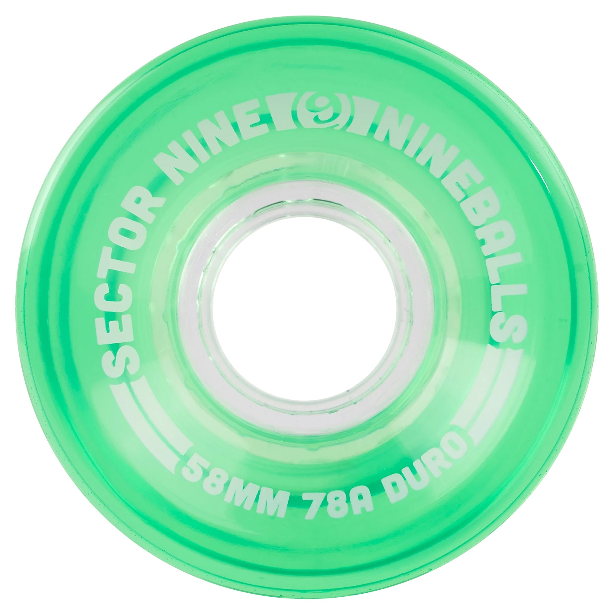 Sector 9 9-Ball 58mm 78a Wheels - Green