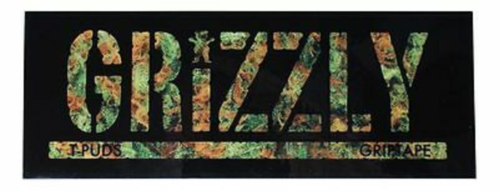 Grizzly T-Puds Kush Decal