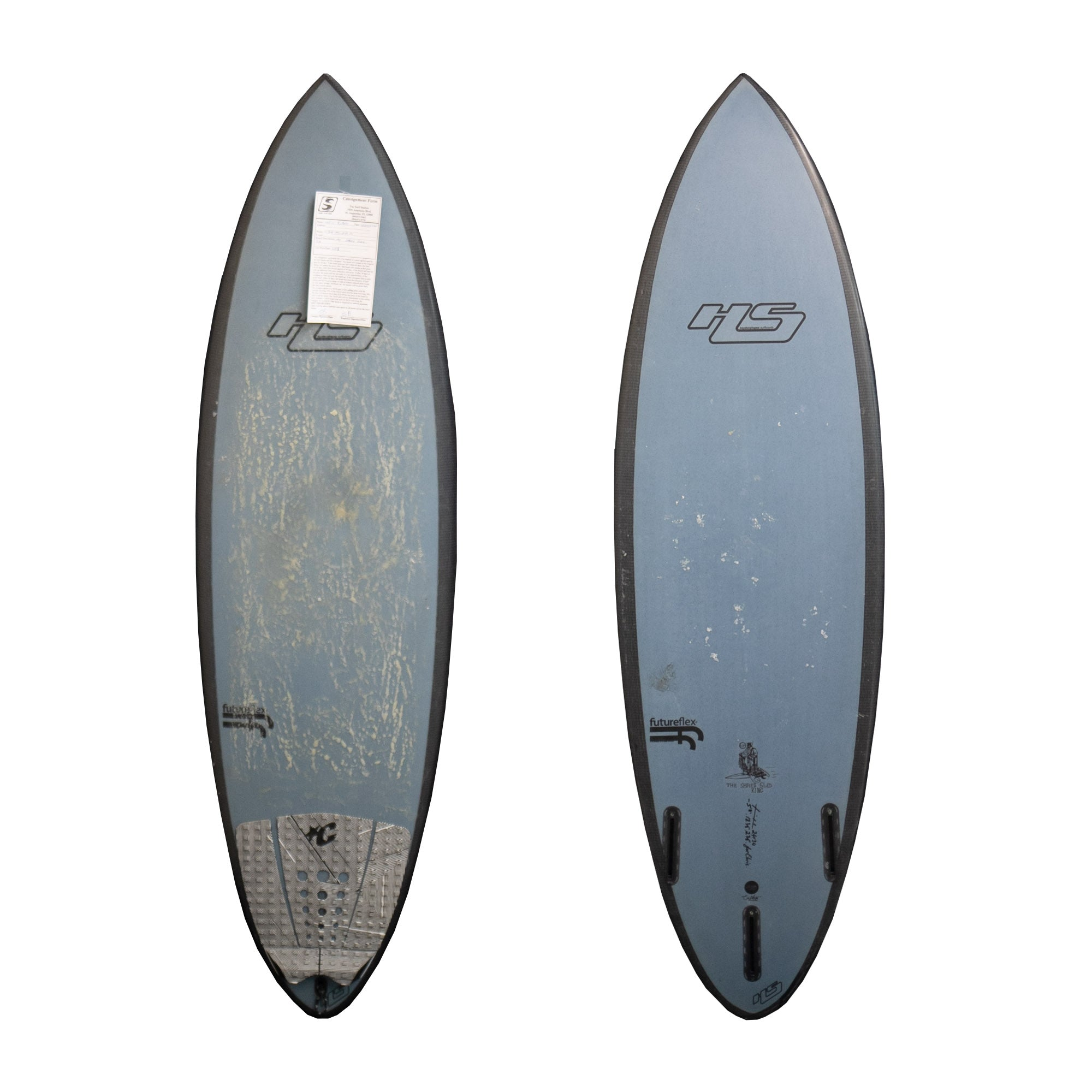 Hayden Shapes Shred Sled 5'8 Used Surfboard