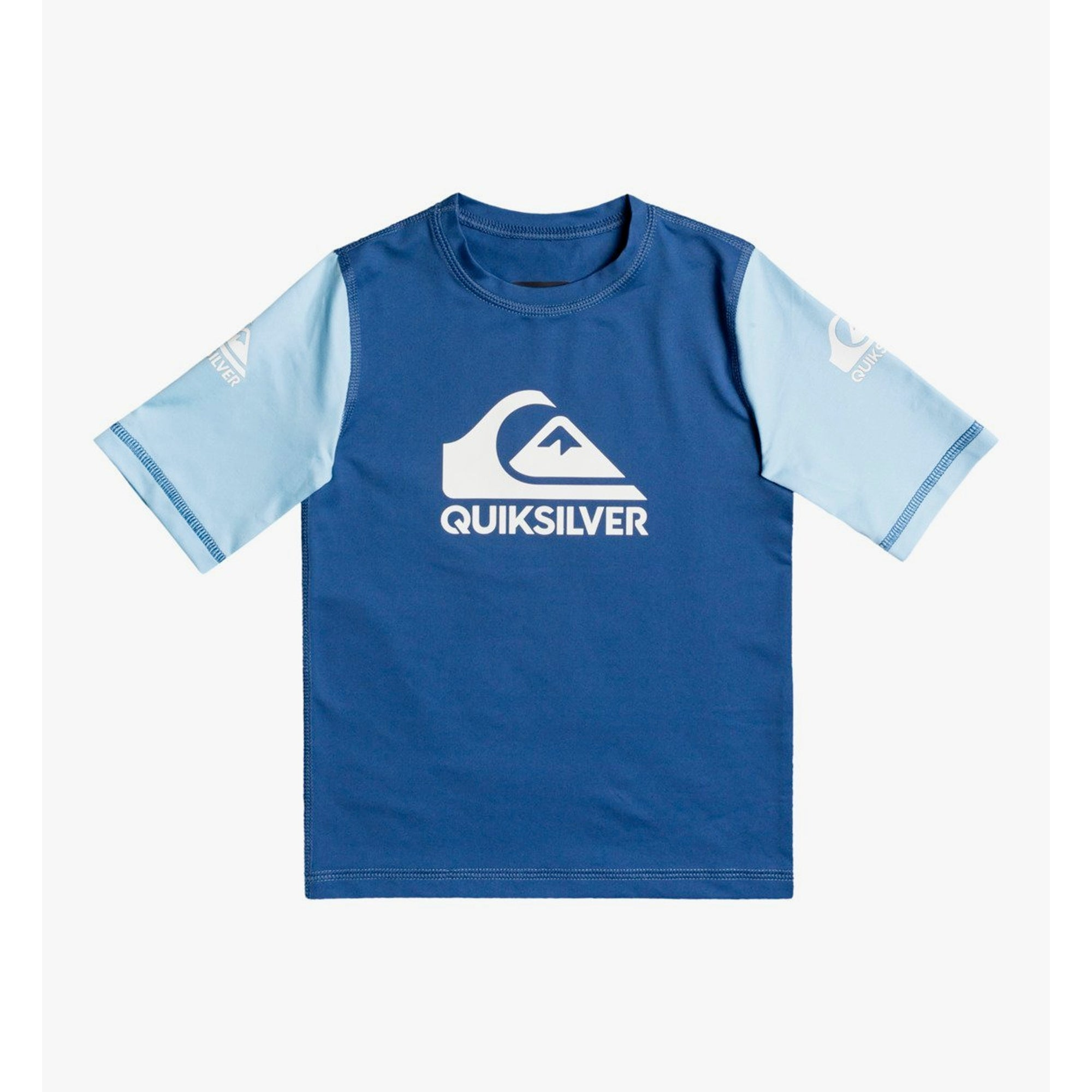 Quiksilver Heats On Youth Boy's S/S Rashguard