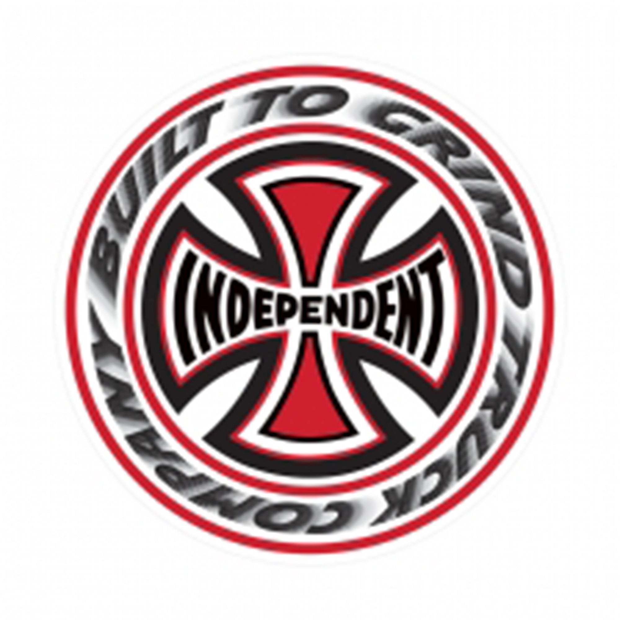 Independent Built To Grind Circle Decal
