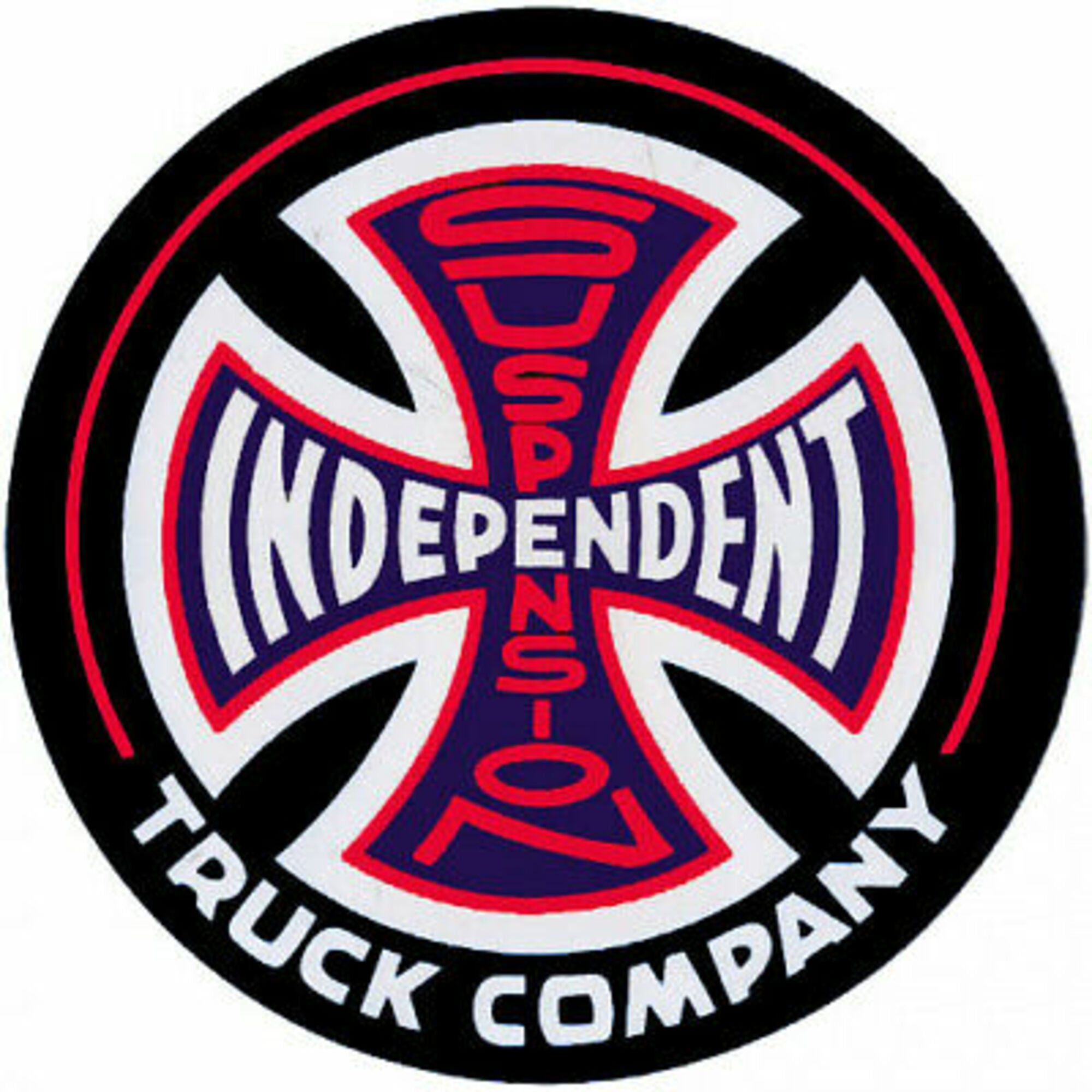 "Independent Suspension Sketch 1.5"" Decal"