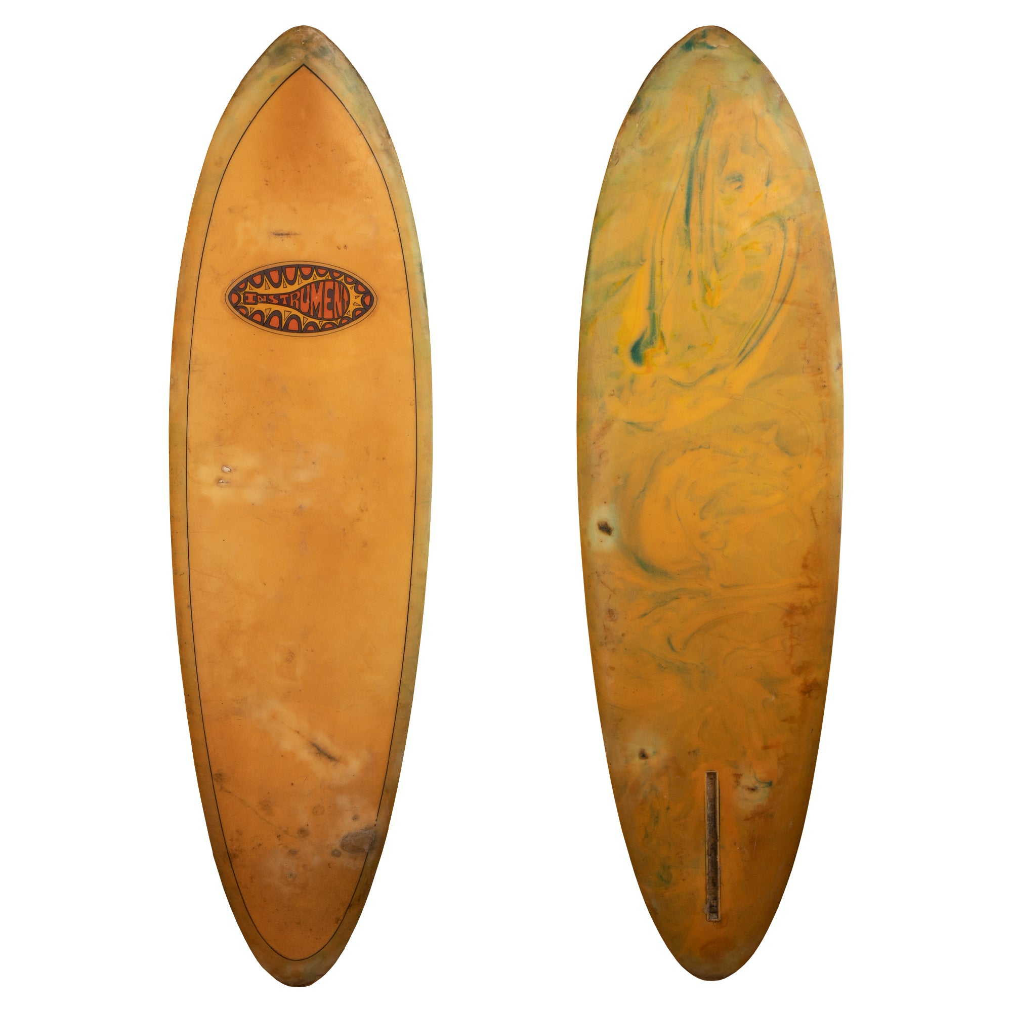 Oceanside the Instrument Collector Surfboard