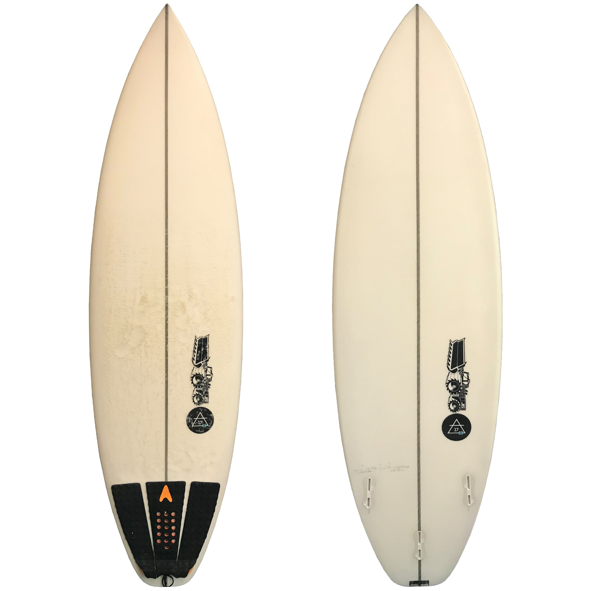 "JS ""Air 17 X"" 5'8 Used Surfboard"
